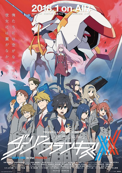 Darling in the FranXX - Recenzja anime zima 2018