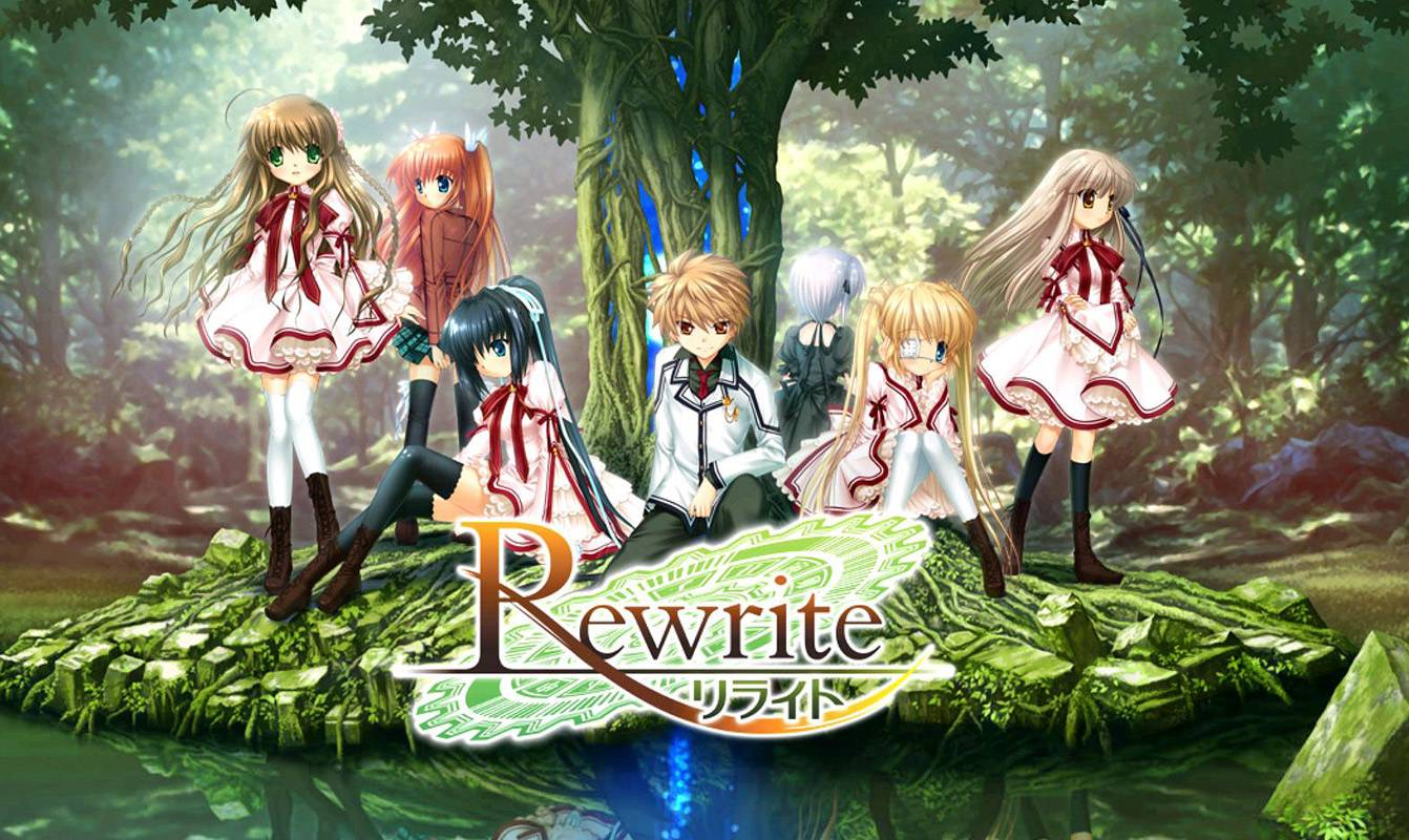 Rewrite Visual Novel - Unboxig i Recenzja