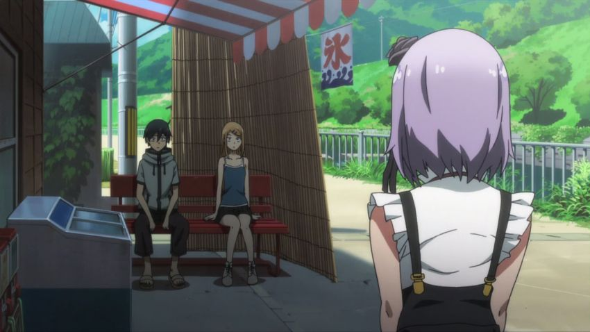 Dagashi kashi Best Looking Anime 2016