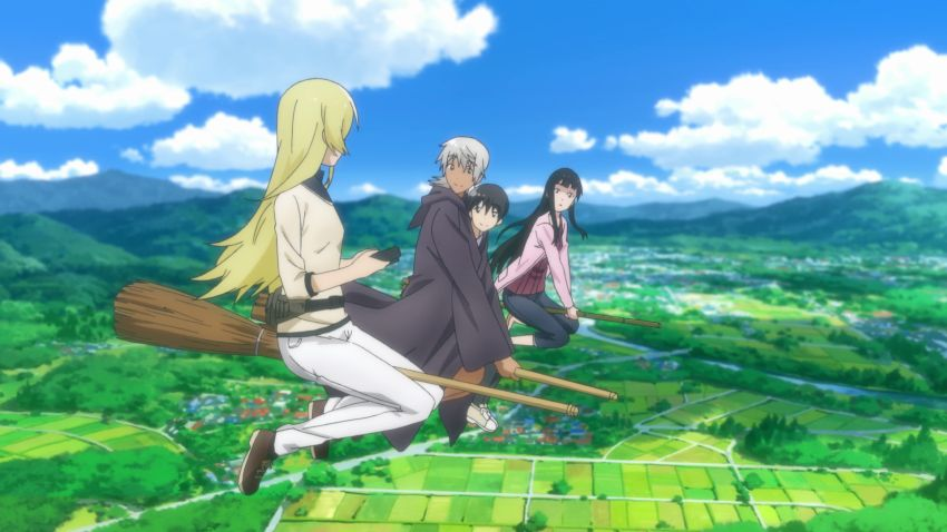 Flying Witch Best Looking Anime 2016
