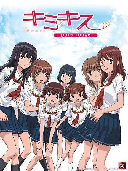 Kimikiss Pure Rouge - recenzja anime - rascal.pl