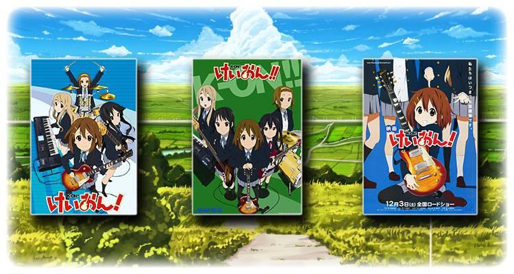 K-on - recenzja anime - rascal.pl