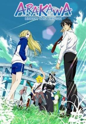 Arakawa Under the Bridge - recenzja anime - rascal.pl