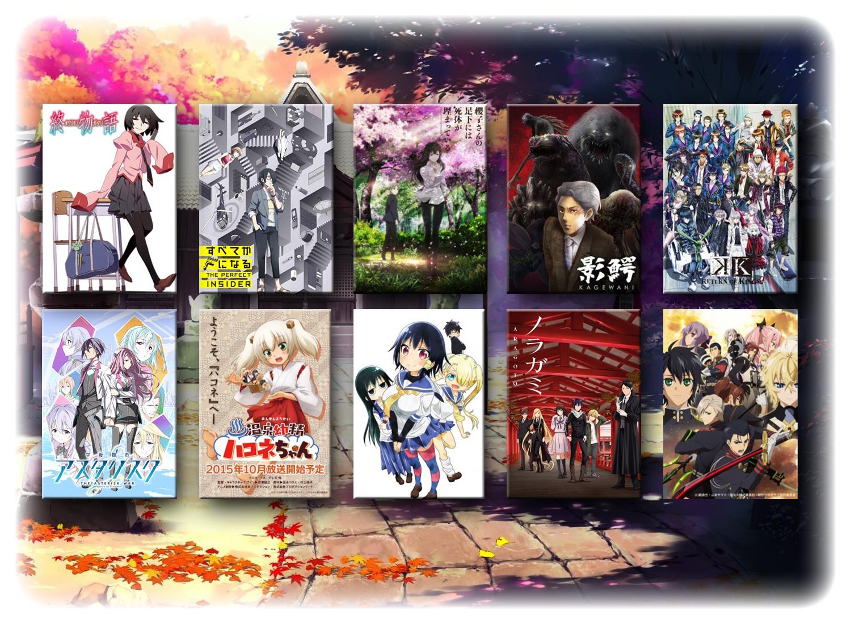 Seriale anime jesień 2015