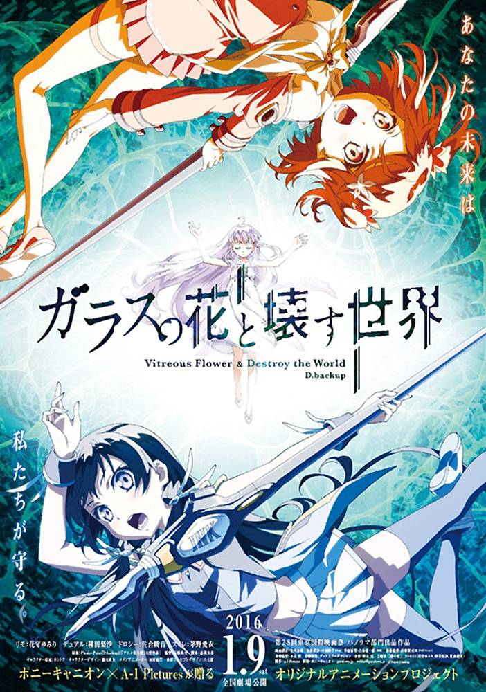 Glass no Hana to Kowasu Sekai - recenzja anime - rascal.pl
