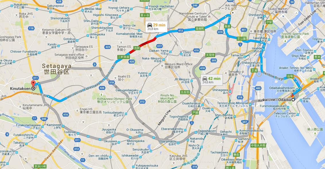 Droga Odaiba do Setagaya - Tokyo Magnitude 8.0 Recenzja anime