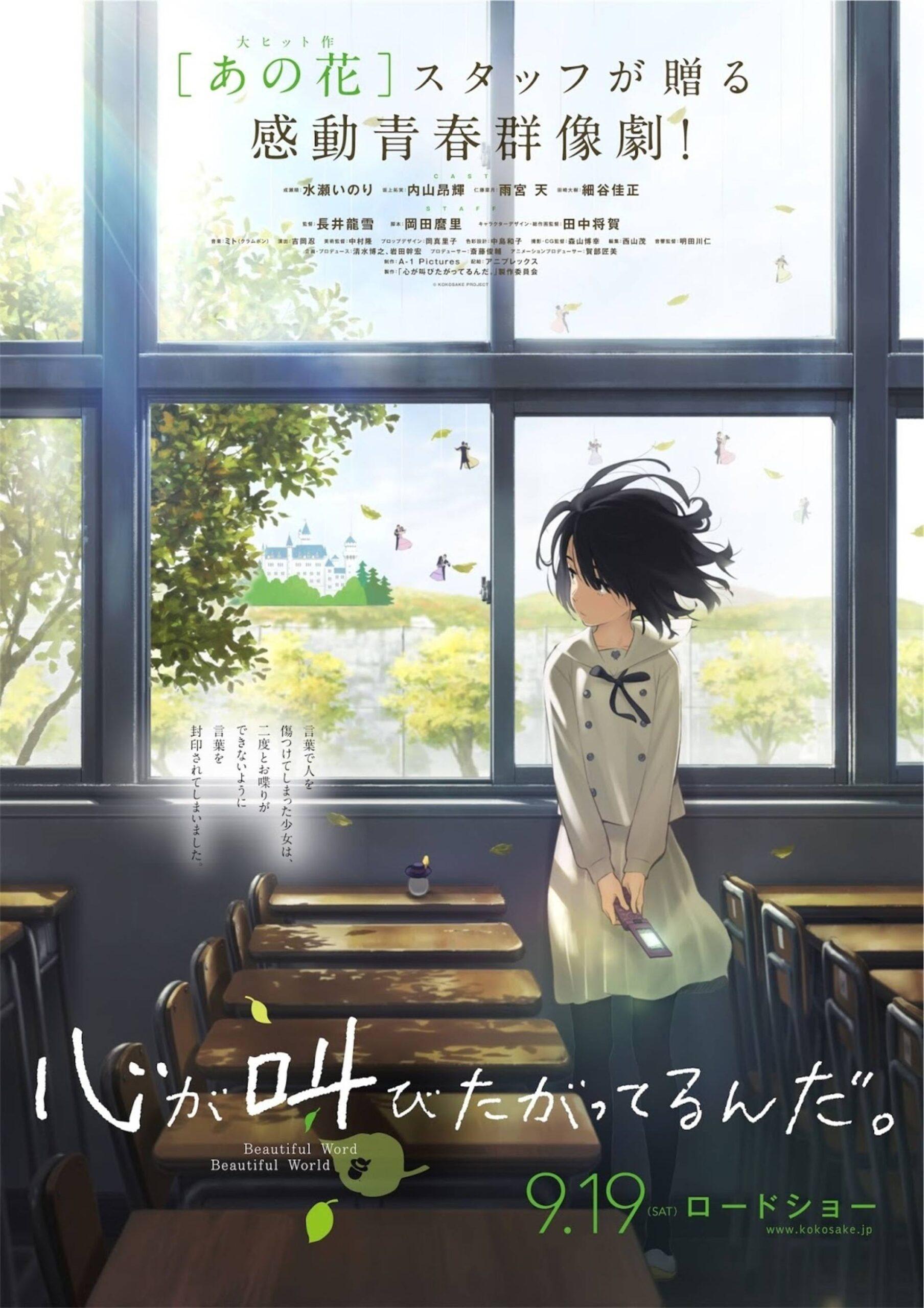 Kokoro ga Sakebitagatterunda - recenzja anime - rascal.pl