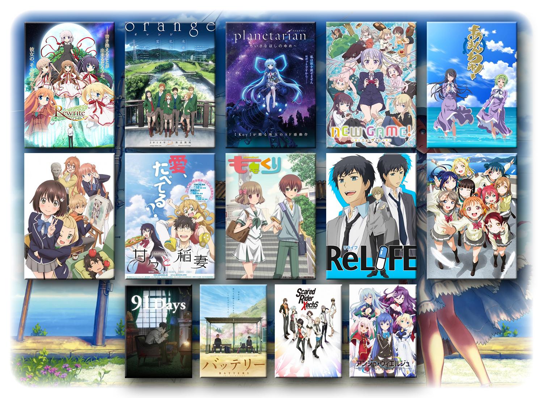 Seriale anime lato 2016