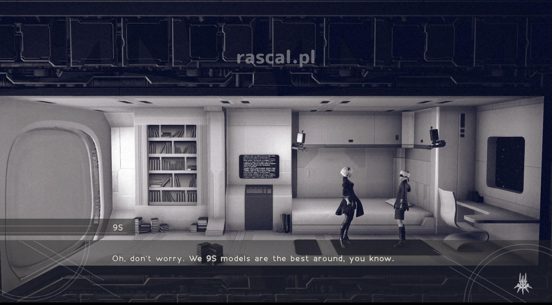 NieR: Automata - recenzja - rascal
