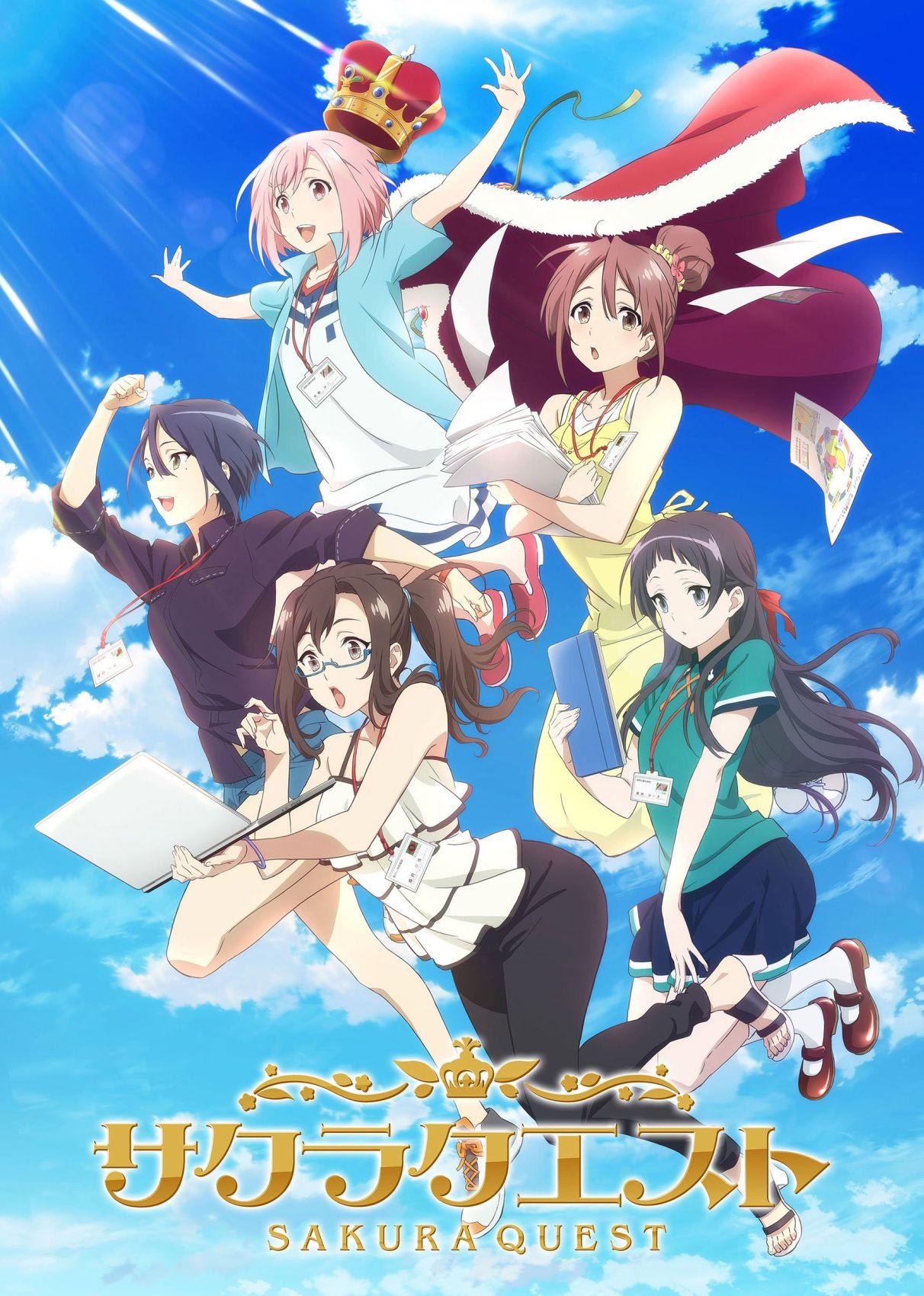 Sakura Quest - recenzja anime - rascal.pl