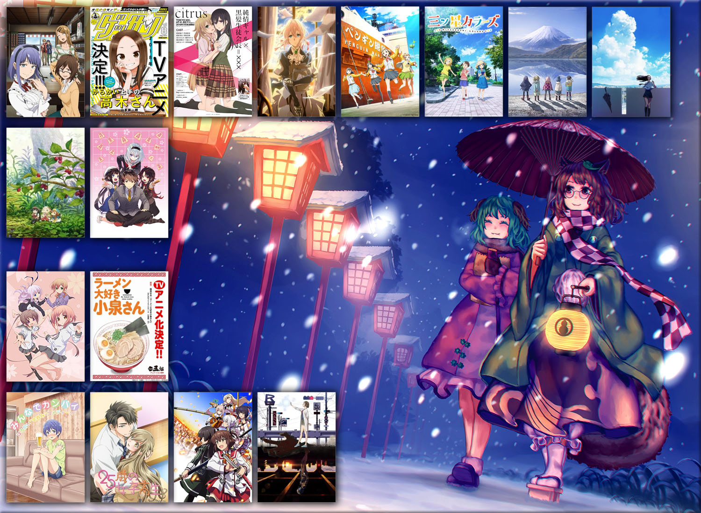 Seriale anime zima 2018