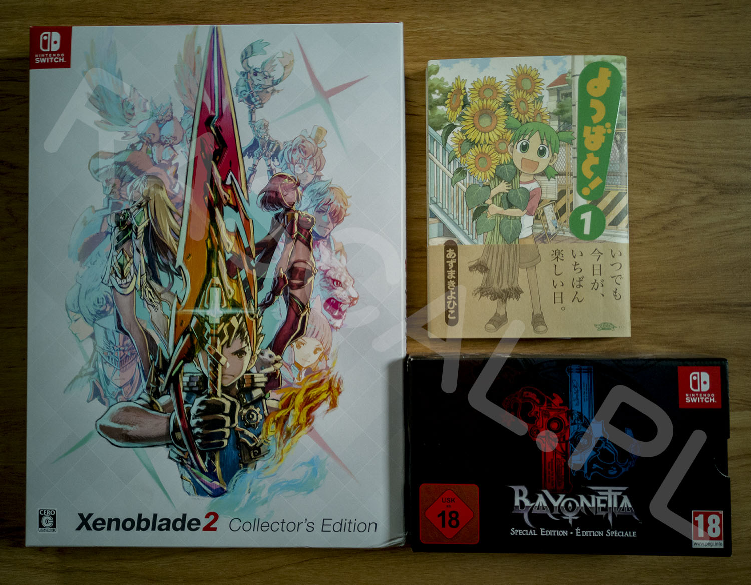 Xenoblade Chronicles 2 Collectors Edition Cover