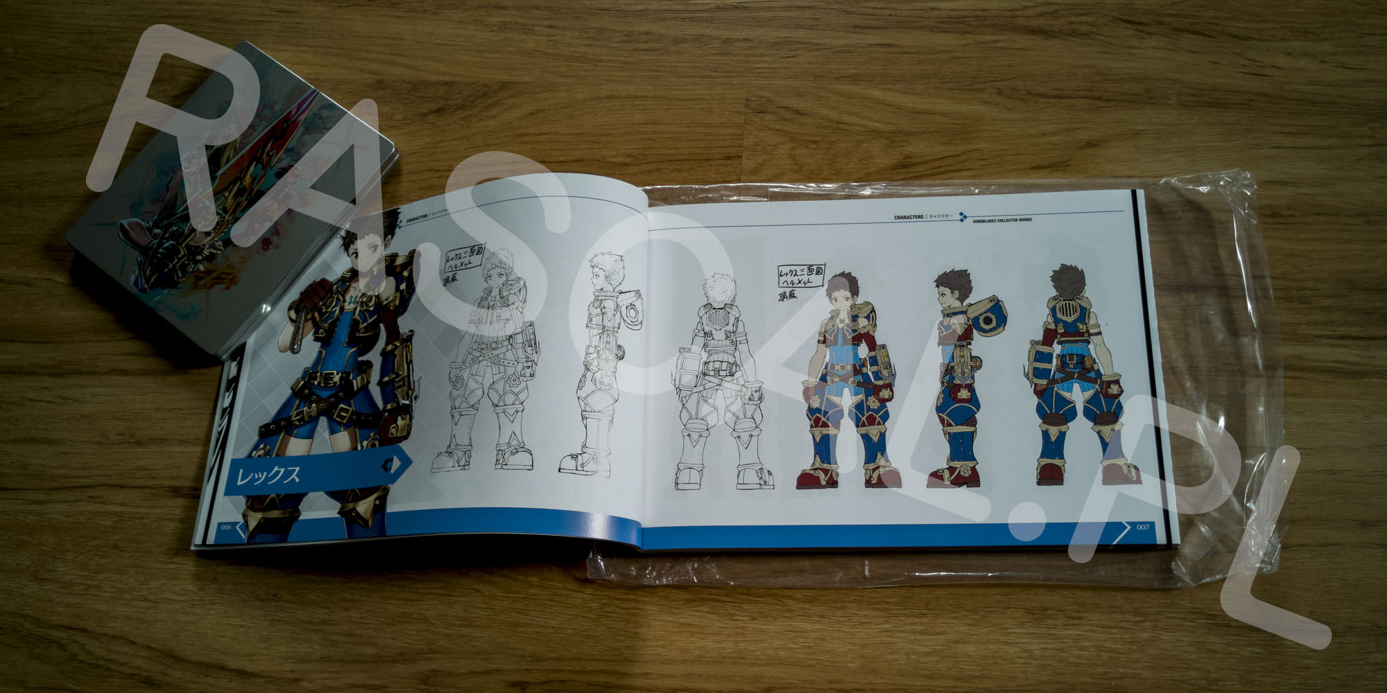 Xenoblade Chronicles 2 Collectors Edition Artbook - 02 - Rex