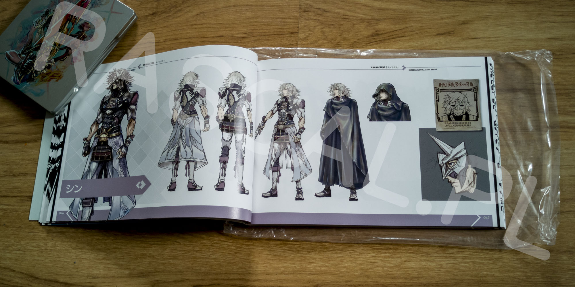 Xenoblade Chronicles 2 Collectors Edition Artbook - 10 - Shin
