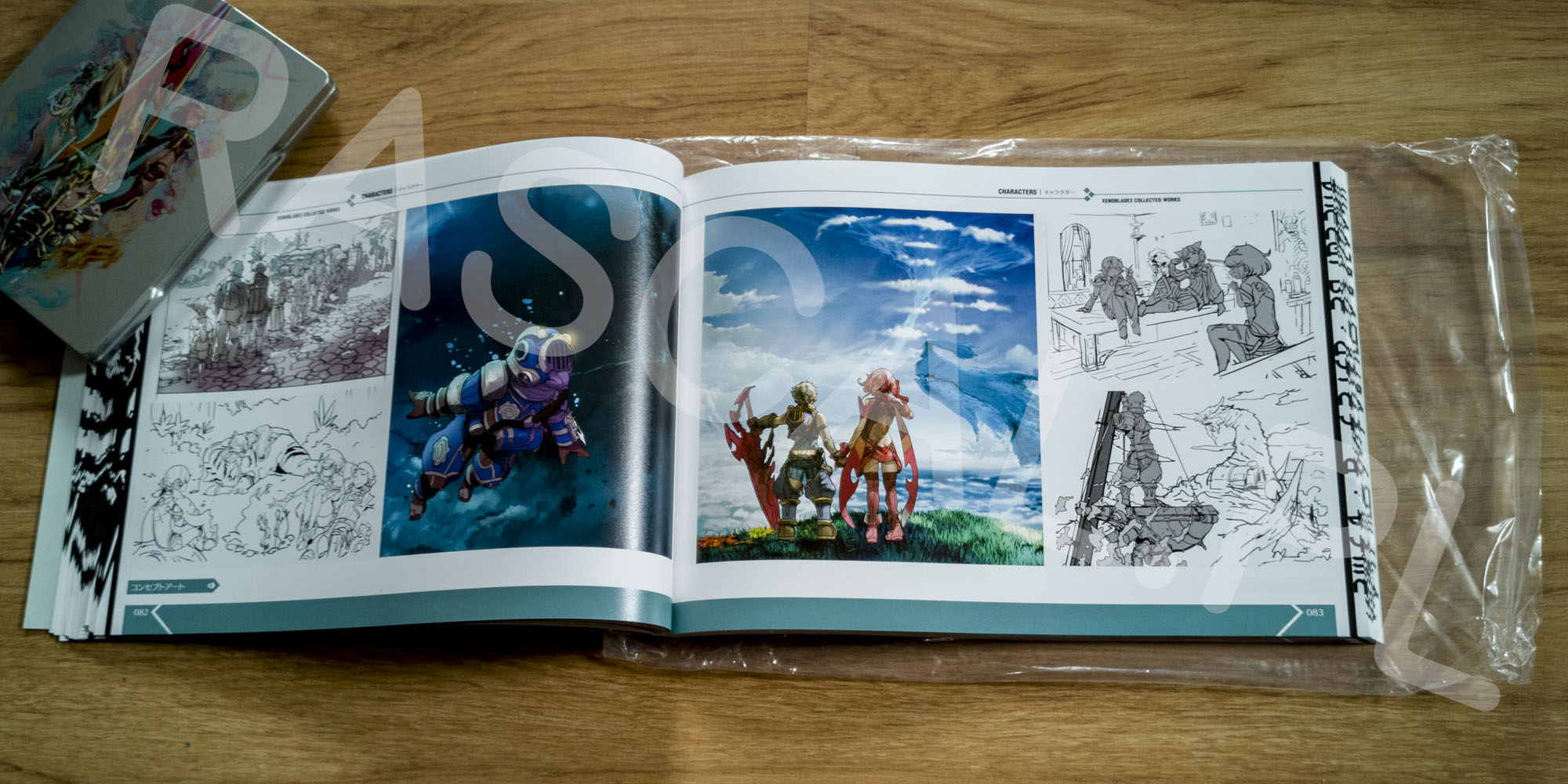 Xenoblade Chronicles 2 Collectors Edition Artbook - 14