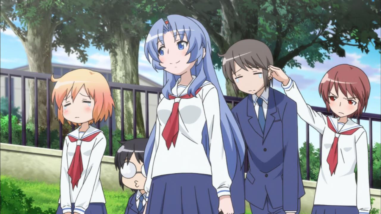 Kotoura-san - recenzja anime - rascal.pl