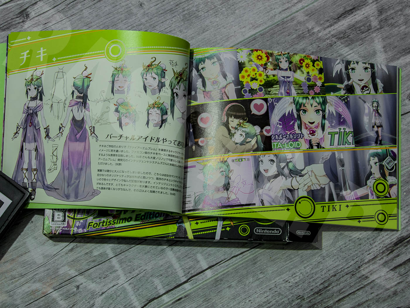 Tokyo Mirage Sessions #FE Fortissimo Edition 2015 - Artbook - Tiki