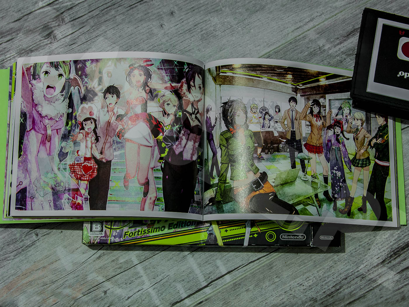 Tokyo Mirage Sessions #FE Fortissimo Edition 2015 - Artbook