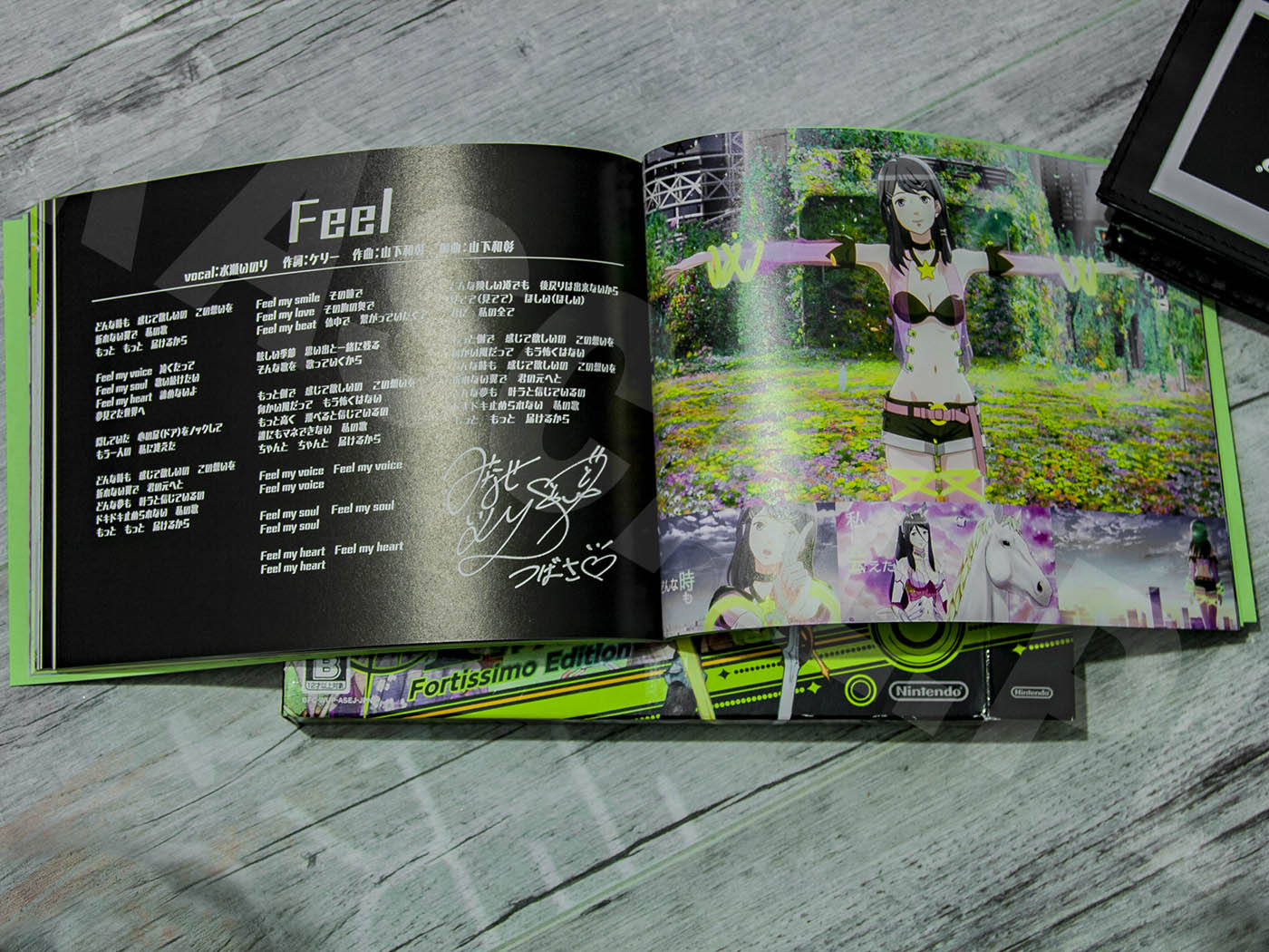 Tokyo Mirage Sessions #FE Fortissimo Edition 2015 - Artbook - Słowa utworu