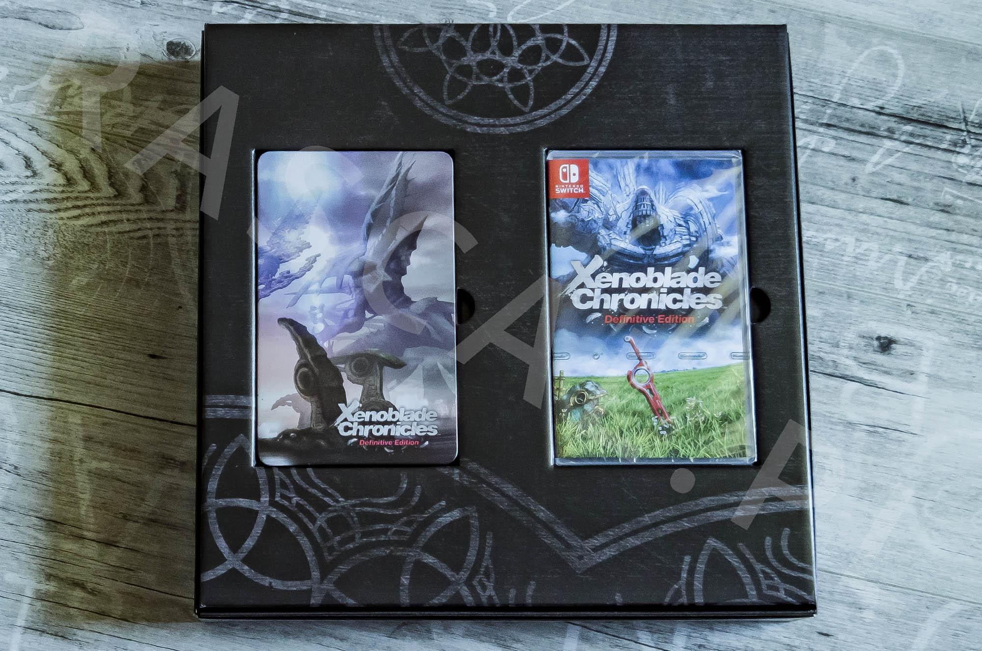 Xenoblade Chronicles Definitive Edition Collectors Set - Środek Pudełka