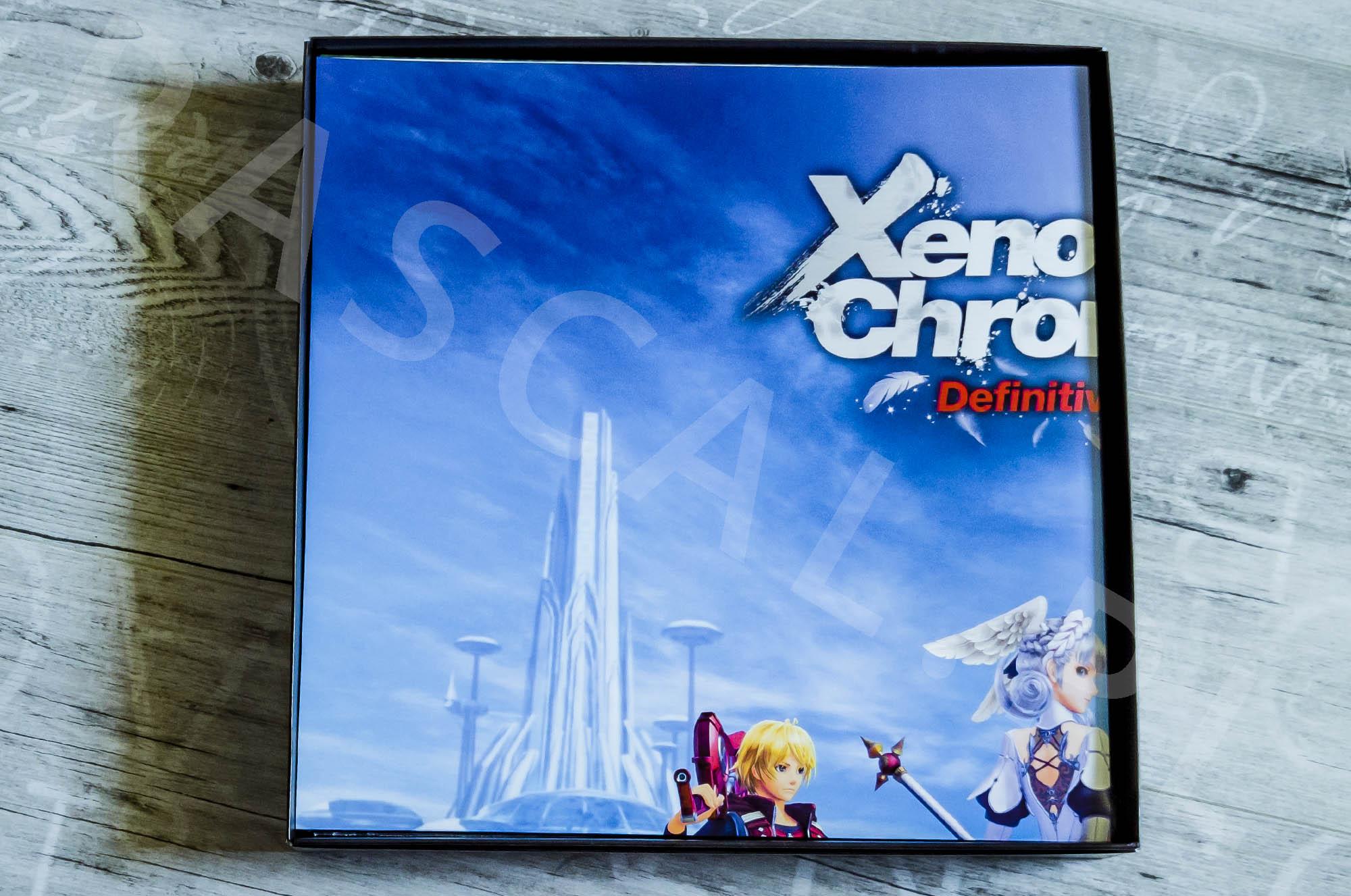 Xenoblade Chronicles Definitive Edition Collectors Set - Środek Pudełka - Plakat