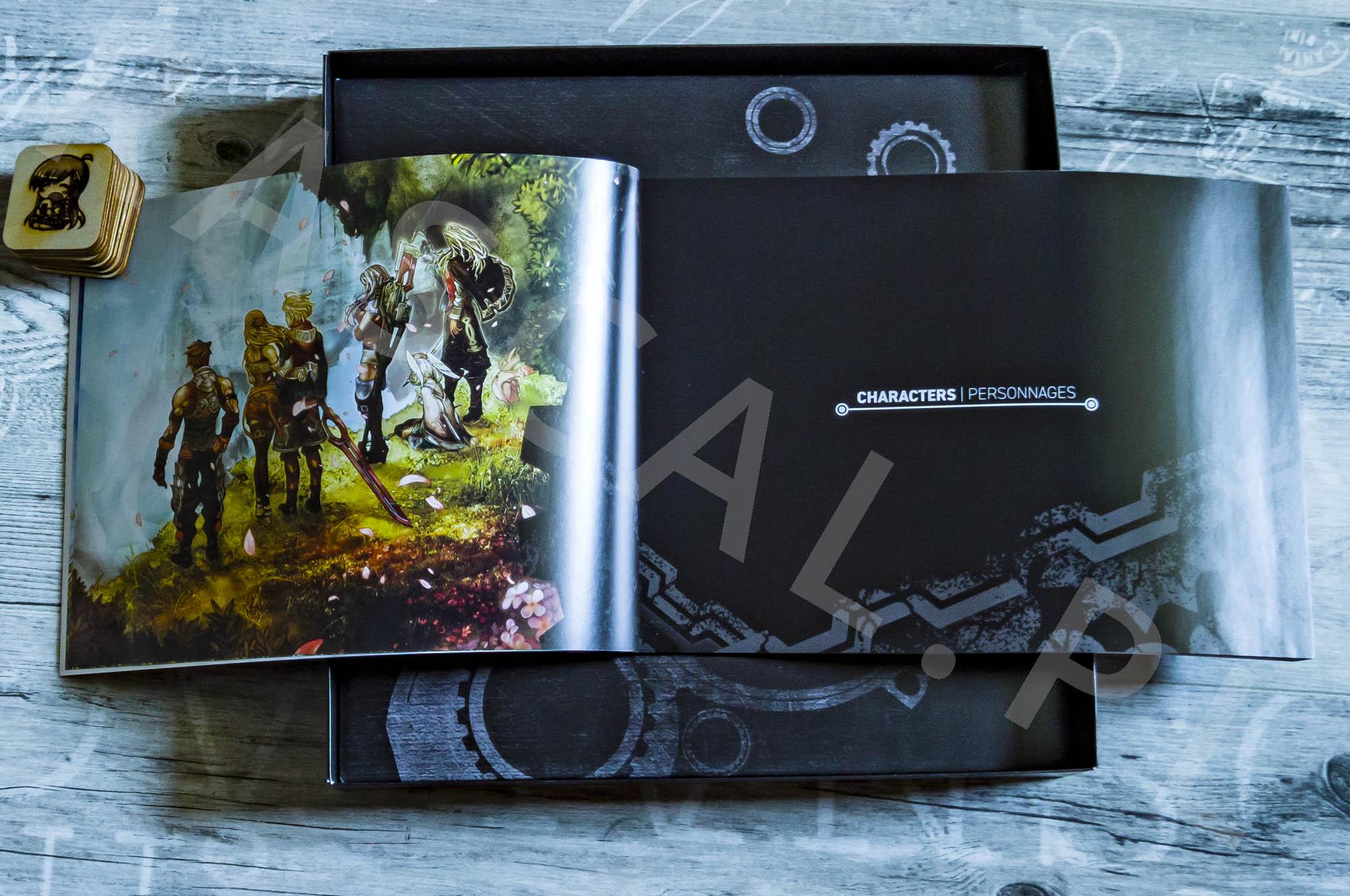 Xenoblade Chronicles Definitive Edition Collectors Set - Artbook - 02 -