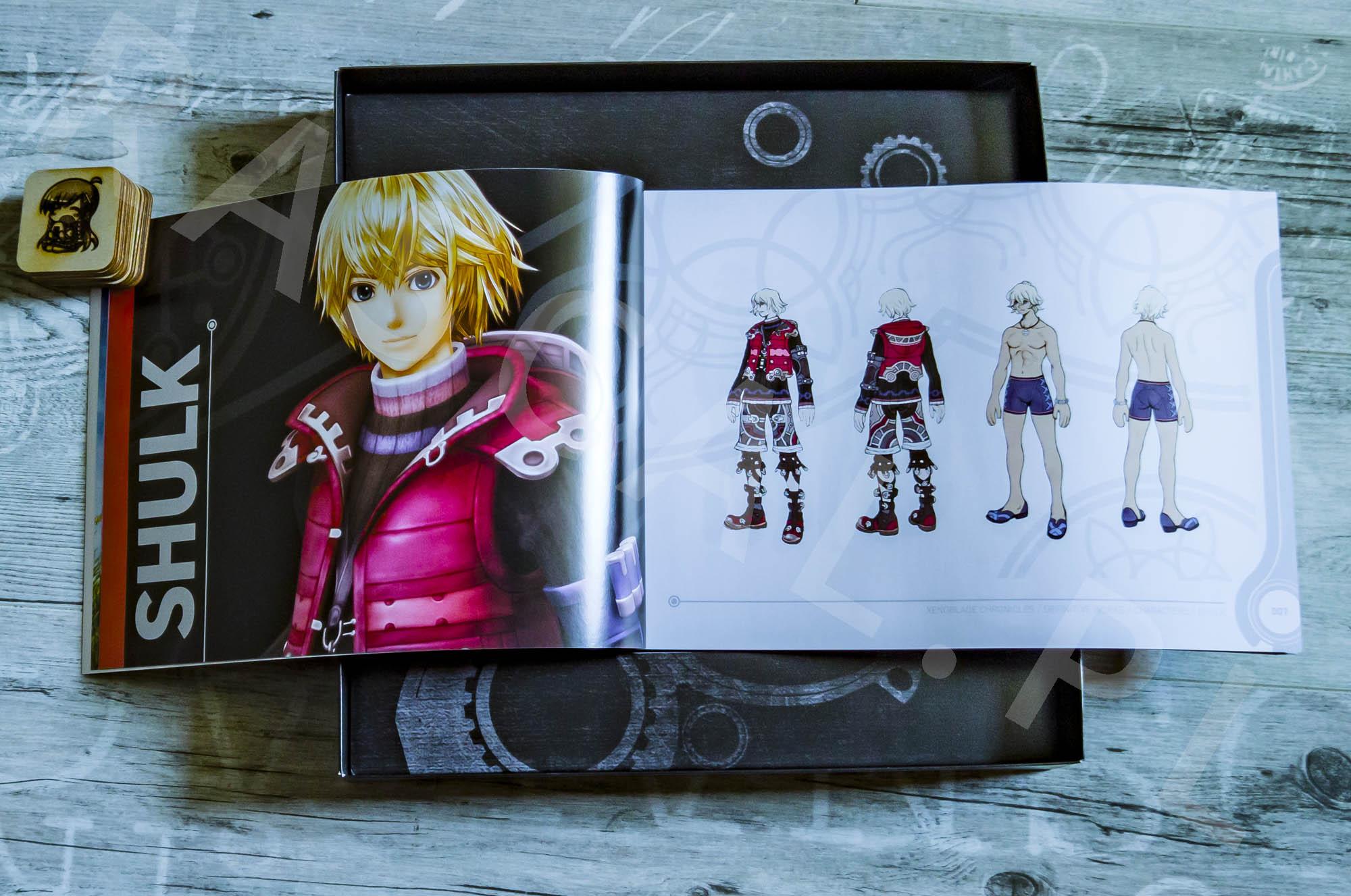 Xenoblade Chronicles Definitive Edition Collectors Set - Artbook - 03 - Shulk