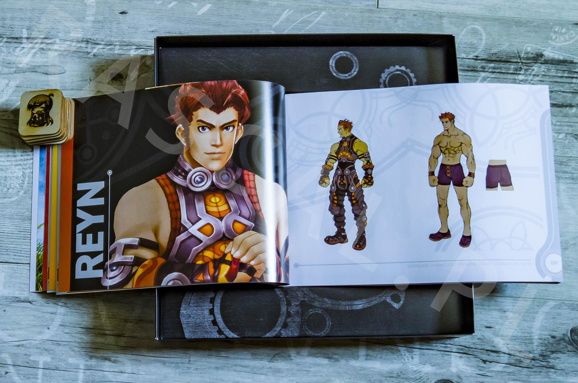 Xenoblade Chronicles Definitive Edition Collectors Set - Artbook - 05 - Reyn
