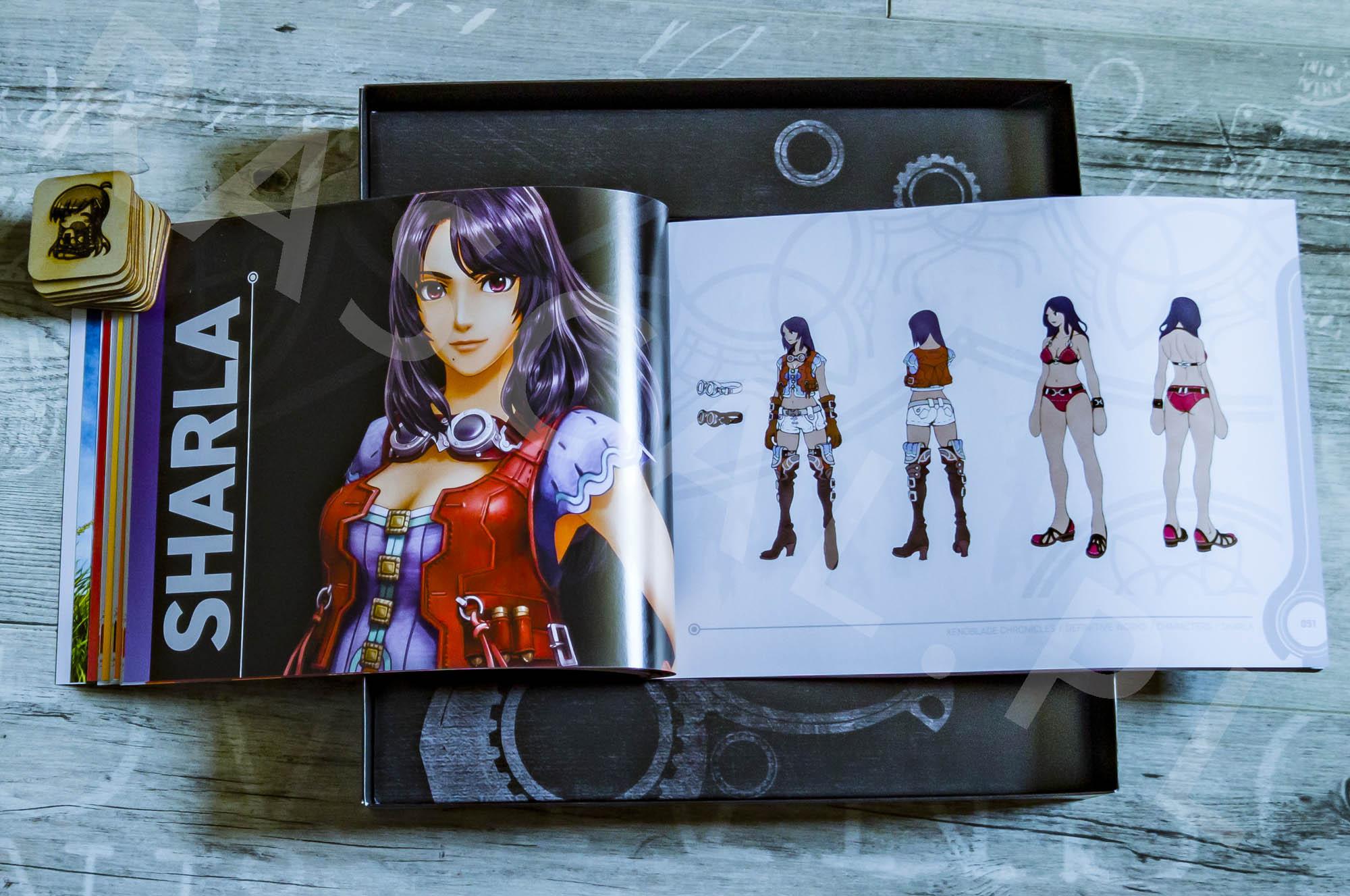 Xenoblade Chronicles Definitive Edition Collectors Set - Artbook - 06 - Carna