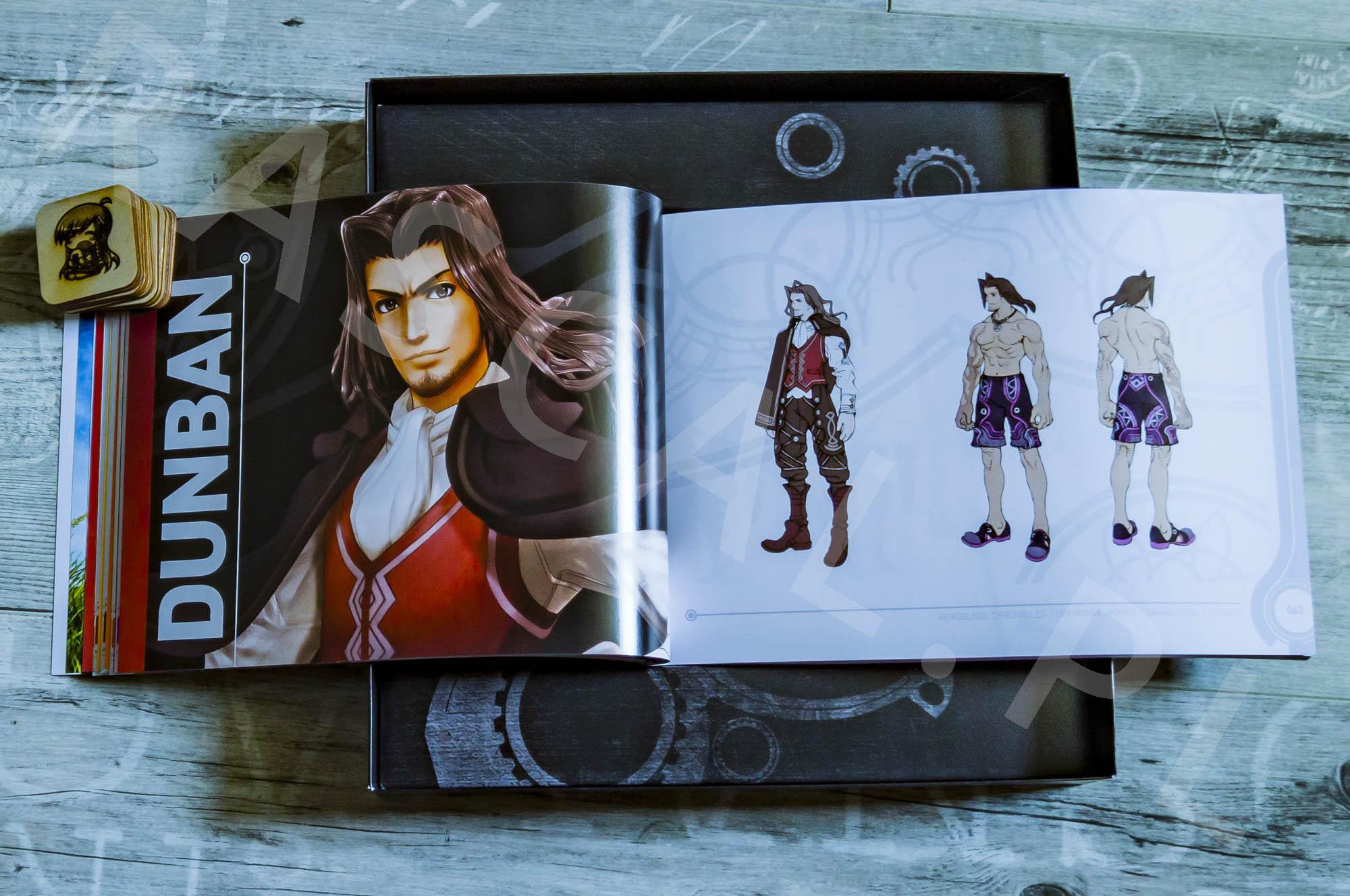 Xenoblade Chronicles Definitive Edition Collectors Set - Artbook - 07 - Dunban