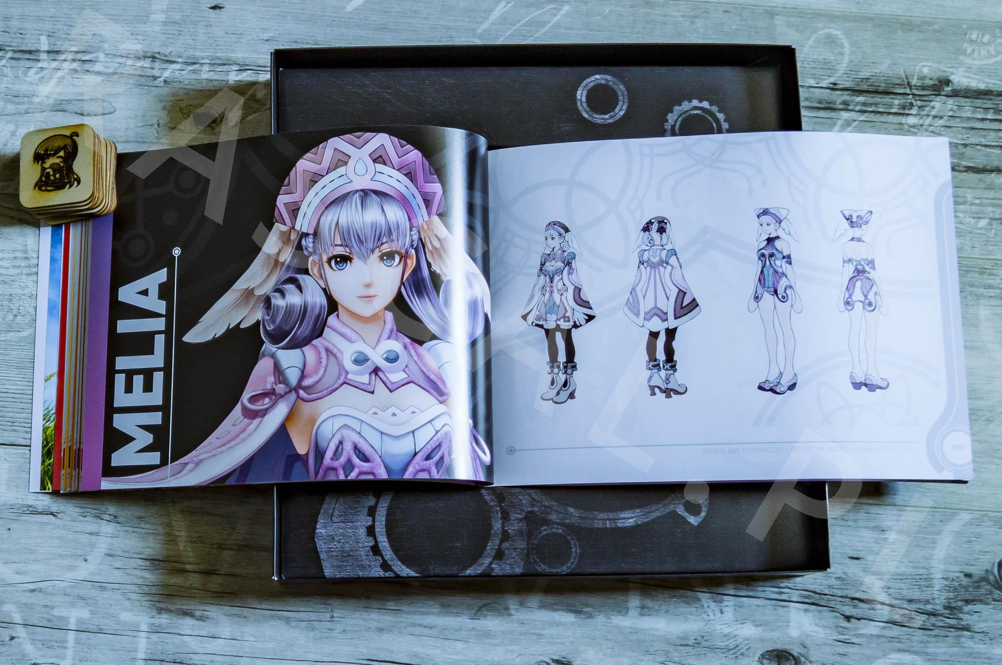 Xenoblade Chronicles Definitive Edition Collectors Set - Artbook - 08 - Melia