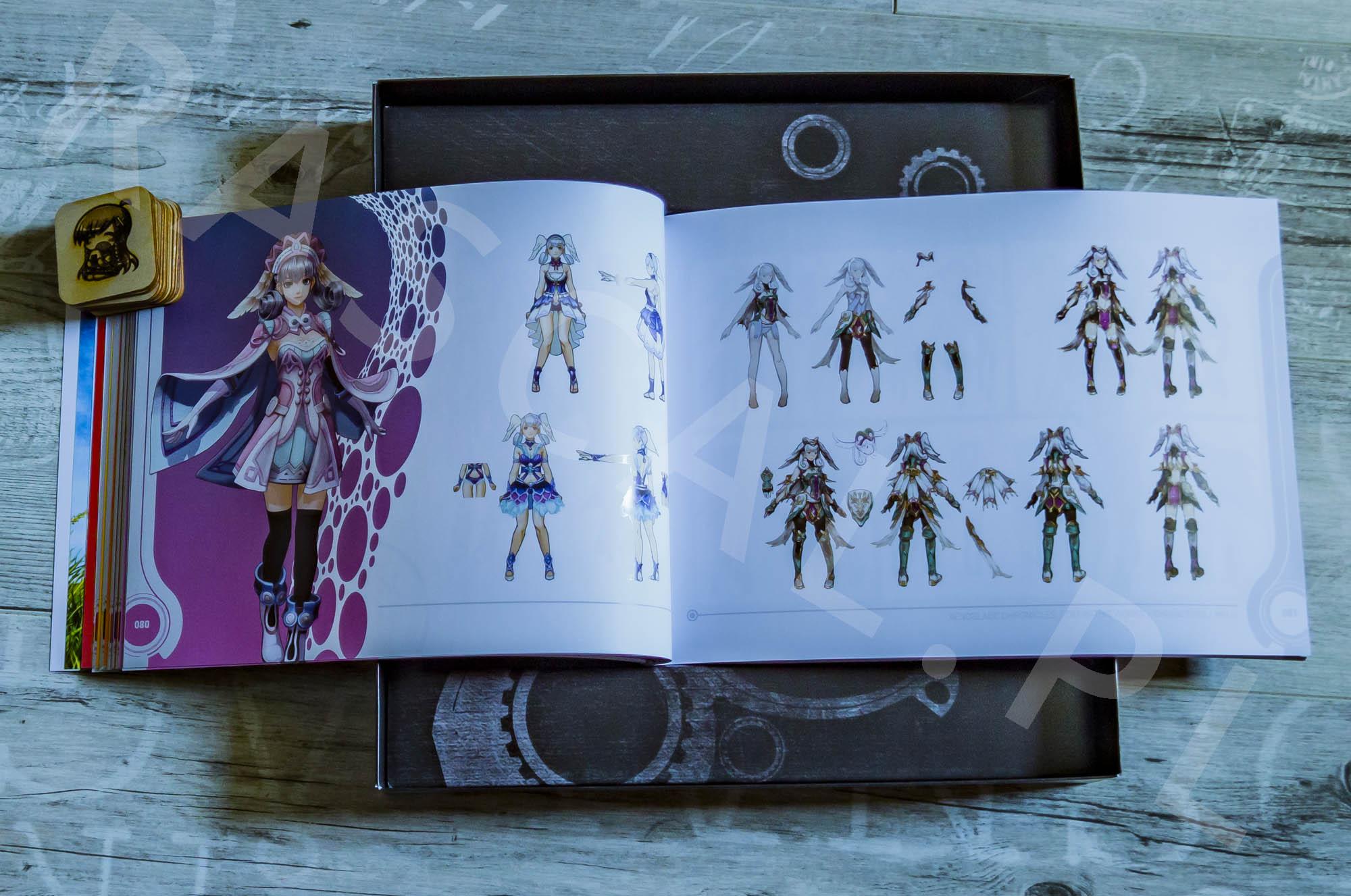 Xenoblade Chronicles Definitive Edition Collectors Set - Artbook - 09 - Melia - 02