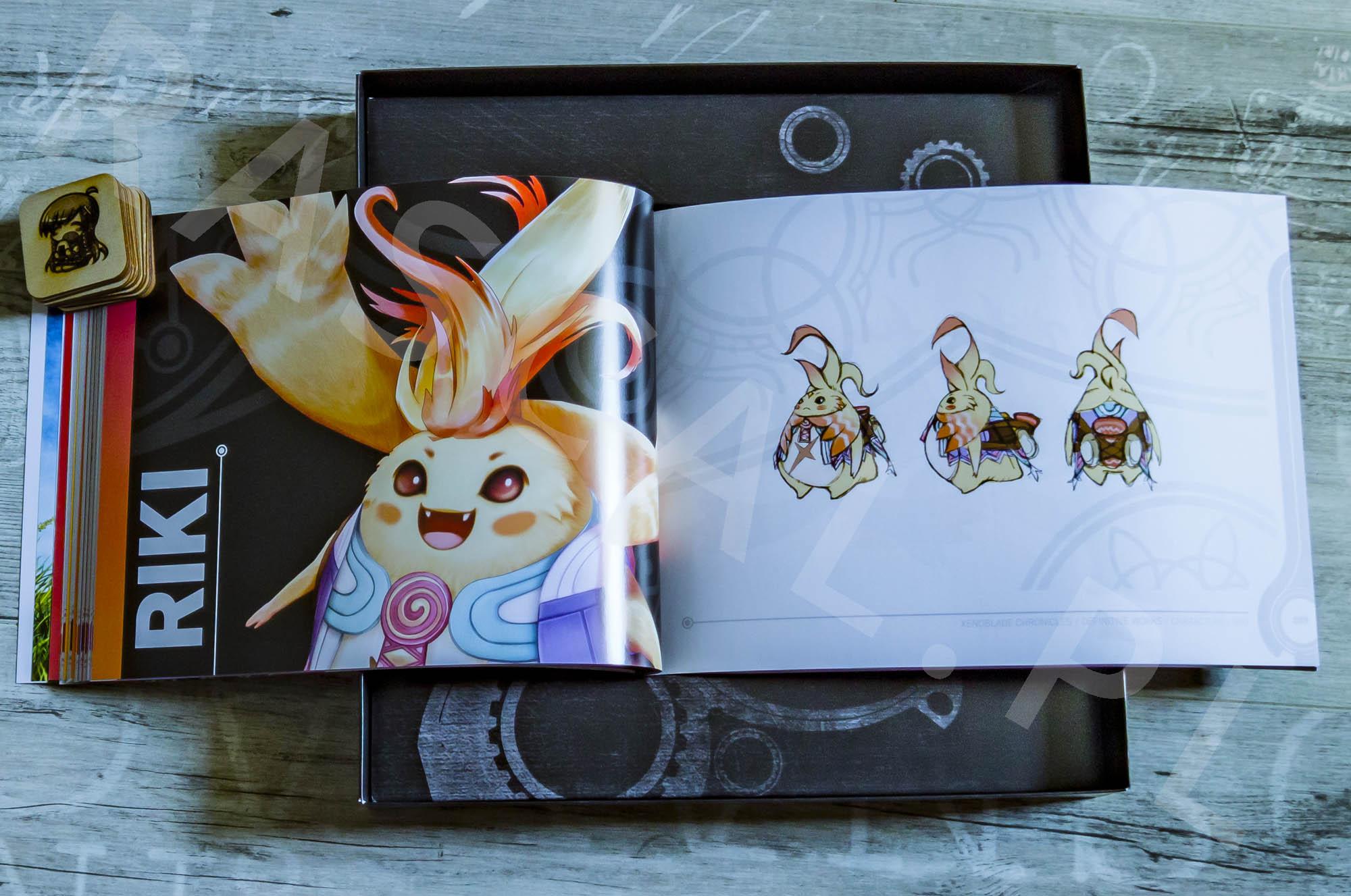 Xenoblade Chronicles Definitive Edition Collectors Set - Artbook - 10 - Riki