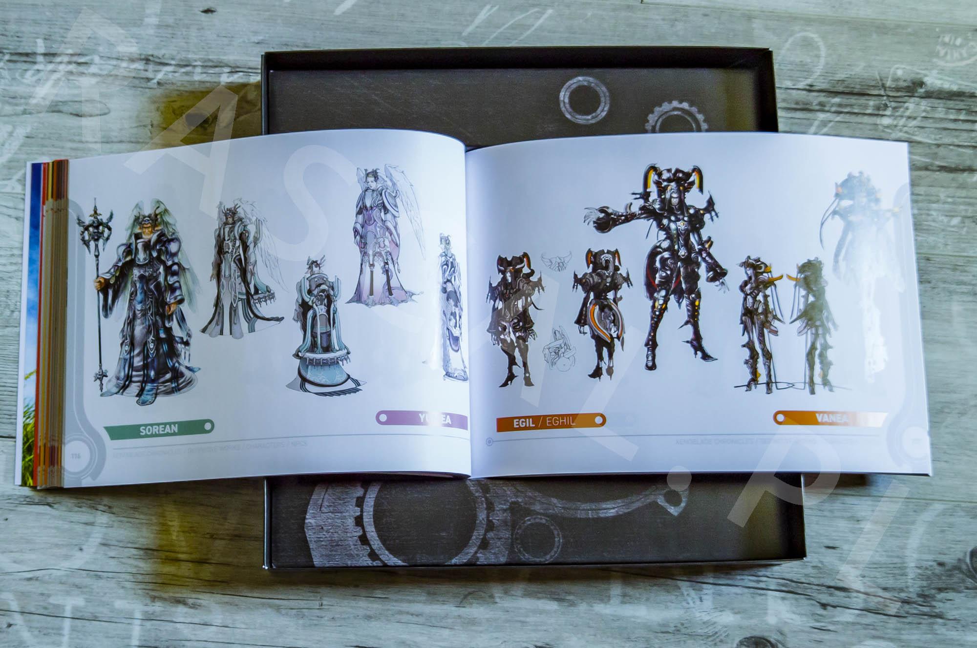Xenoblade Chronicles Definitive Edition Collectors Set - Artbook - 12