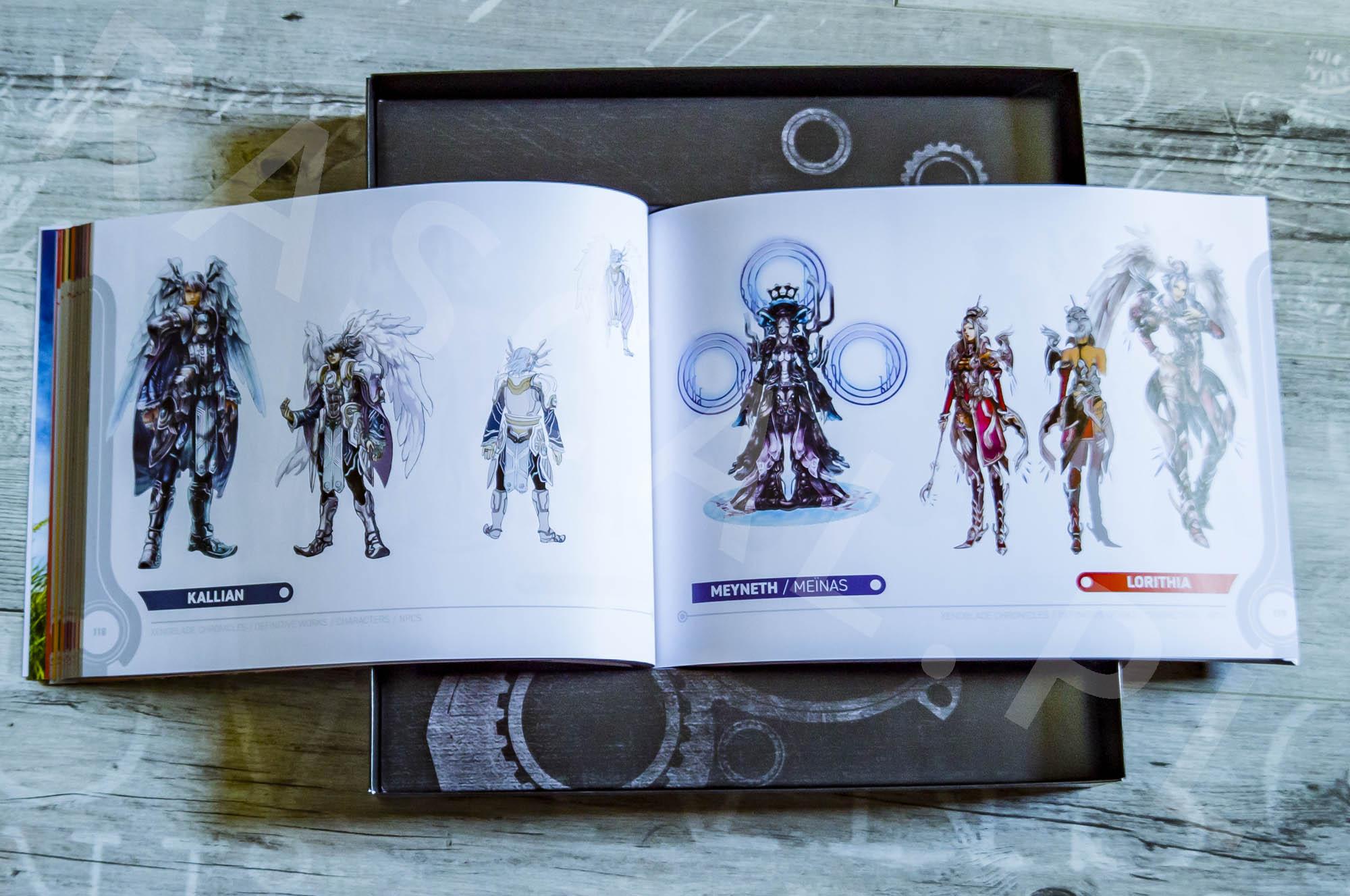 Xenoblade Chronicles Definitive Edition Collectors Set - Artbook - 13