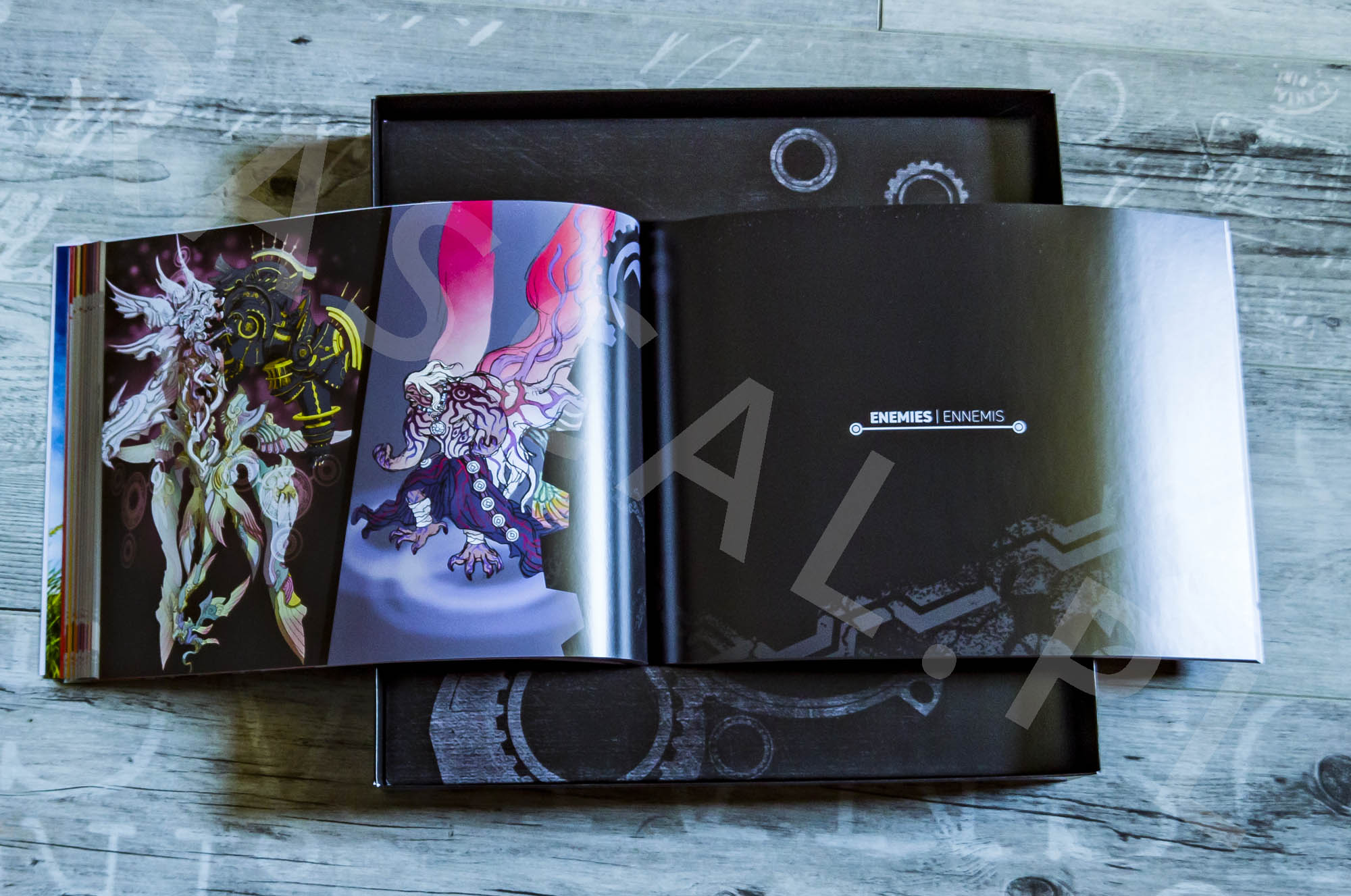 Xenoblade Chronicles Definitive Edition Collectors Set - Artbook - 14