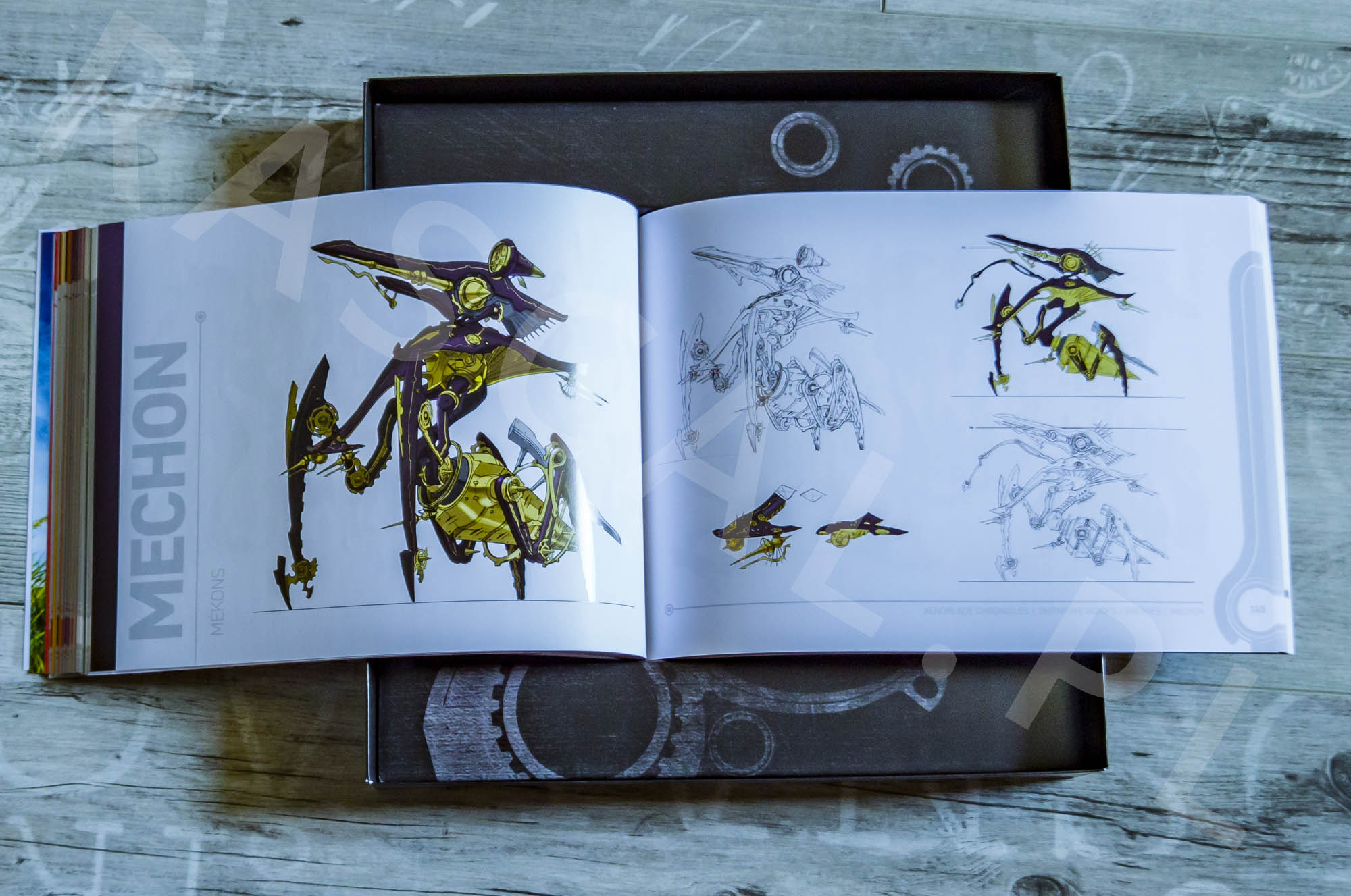 Xenoblade Chronicles Definitive Edition Collectors Set - Artbook - 17 - Wrogowie