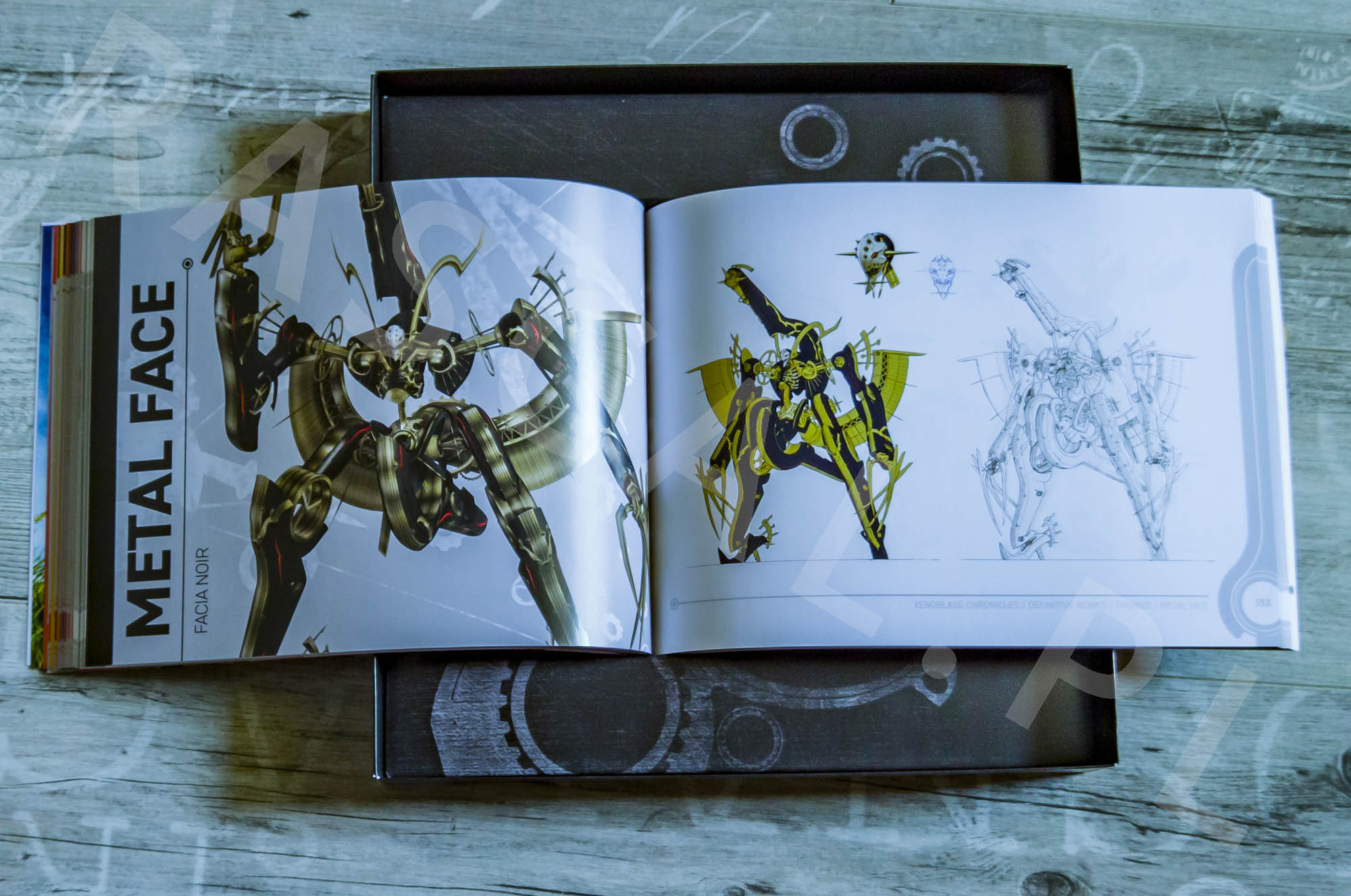 Xenoblade Chronicles Definitive Edition Collectors Set - Artbook - 18 - Wrogowie