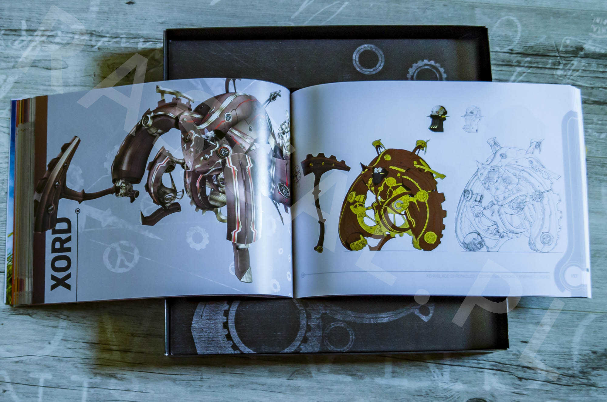 Xenoblade Chronicles Definitive Edition Collectors Set - Artbook - 19 - Wrogowie