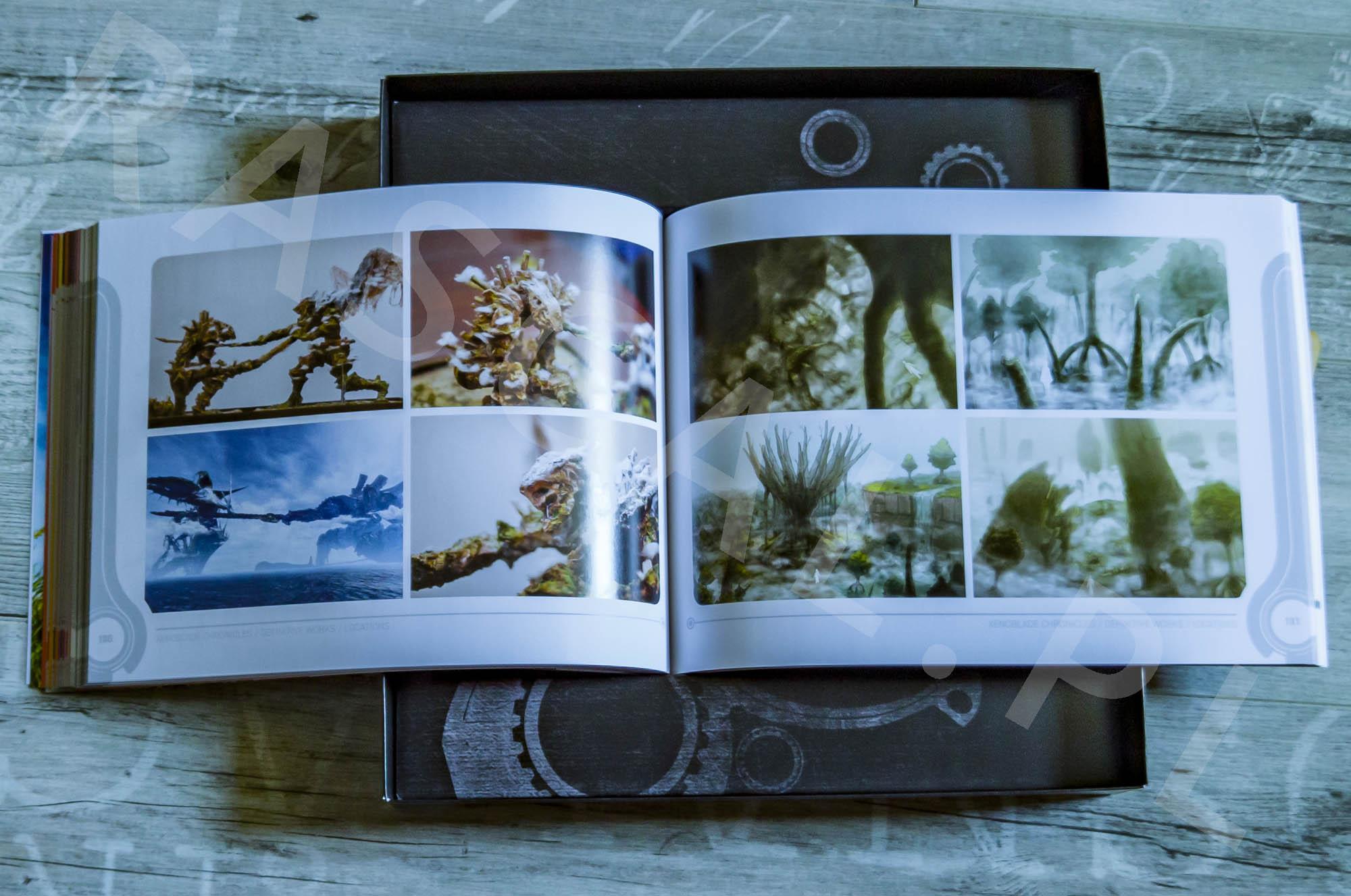 Xenoblade Chronicles Definitive Edition Collectors Set - Artbook - 21 - Lokacje
