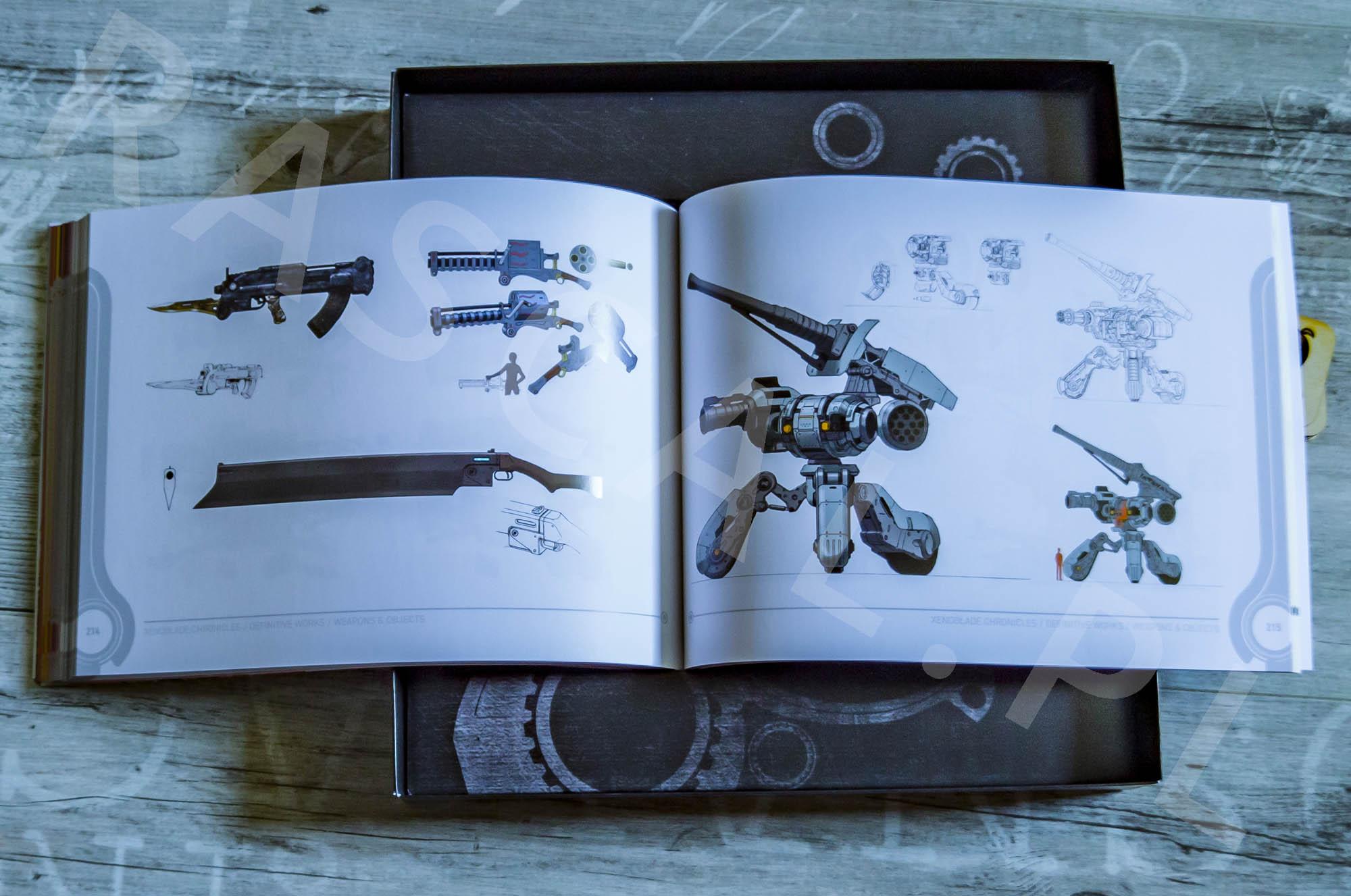 Xenoblade Chronicles Definitive Edition Collectors Set - Artbook - 27 - Bronie