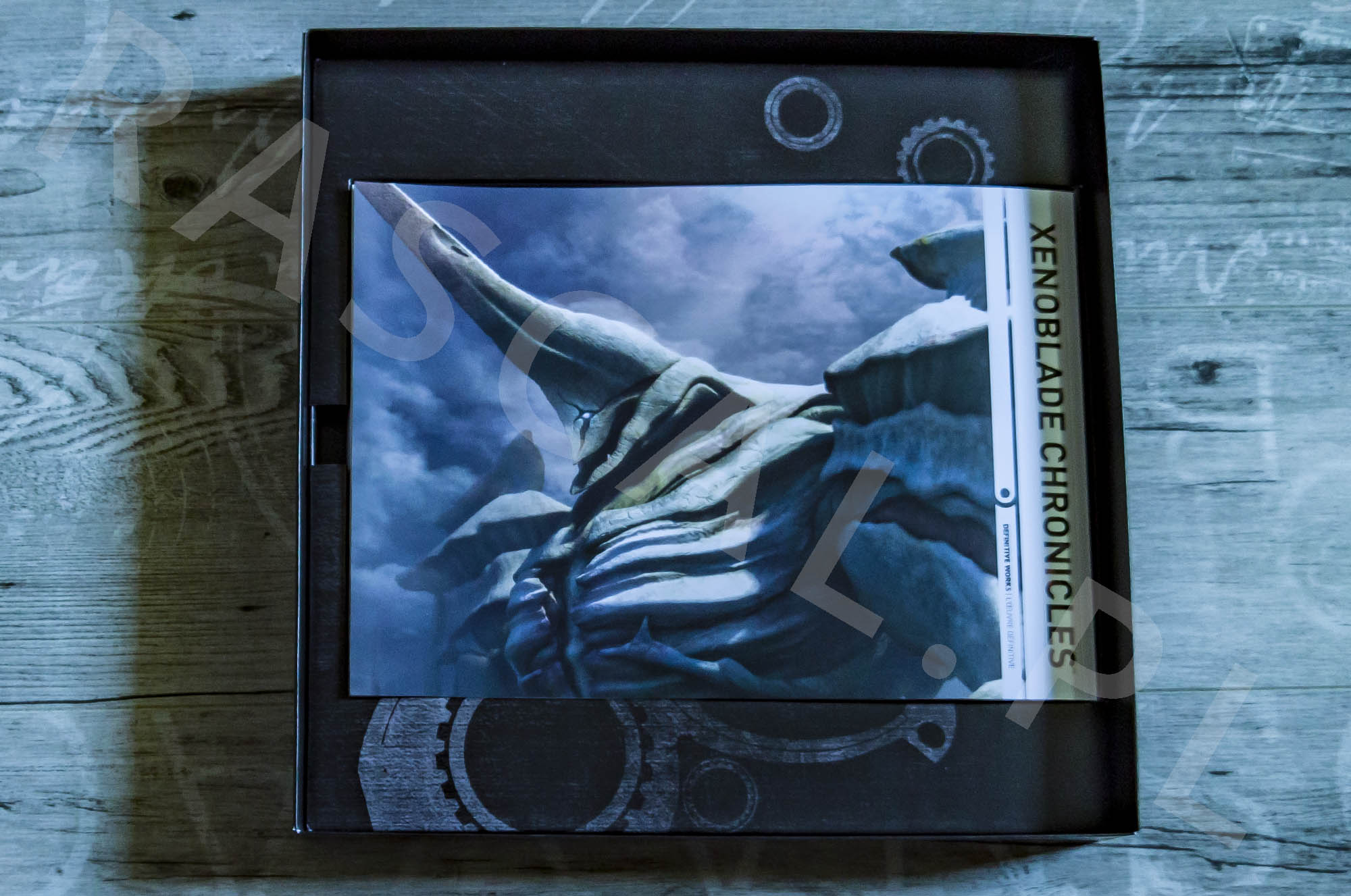 Xenoblade Chronicles Definitive Edition Collectors Set - Artbook - 31 - Tył