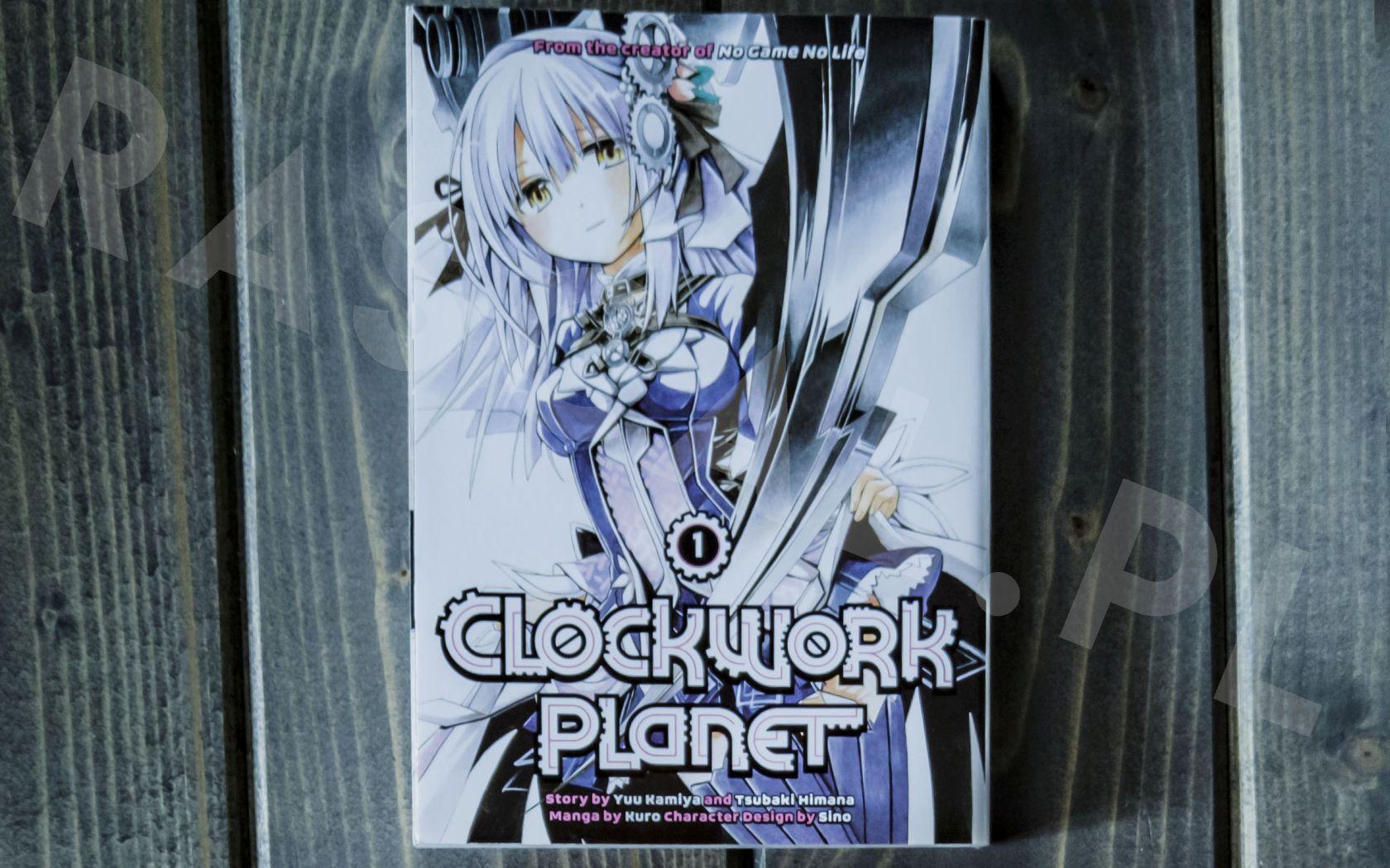 Clockwork Planet (1,2) - Kodansha - Nowości w kolekcji mangi (listopad 2020) - rascal.pl