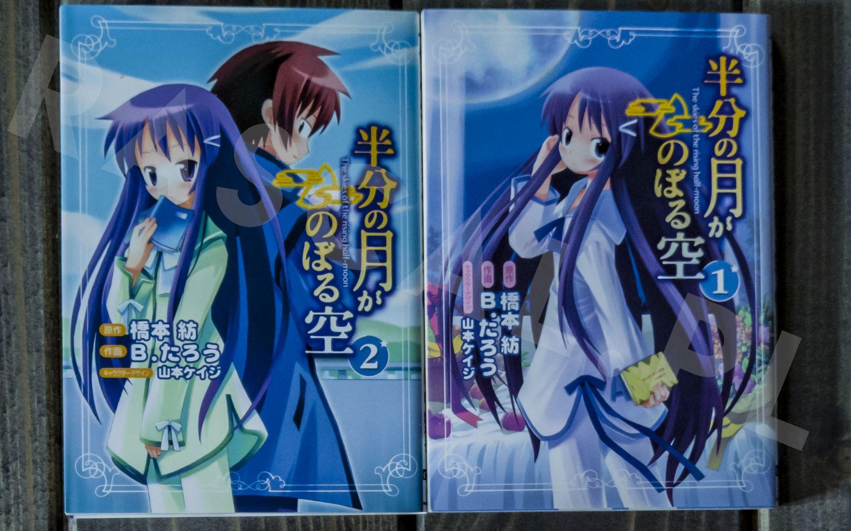 Hanbun no Tsuki ga Noboru Sora (1-2) - Dengeki Comics - Nowości w kolekcji mangi (listopad 2020) - rascal.pl