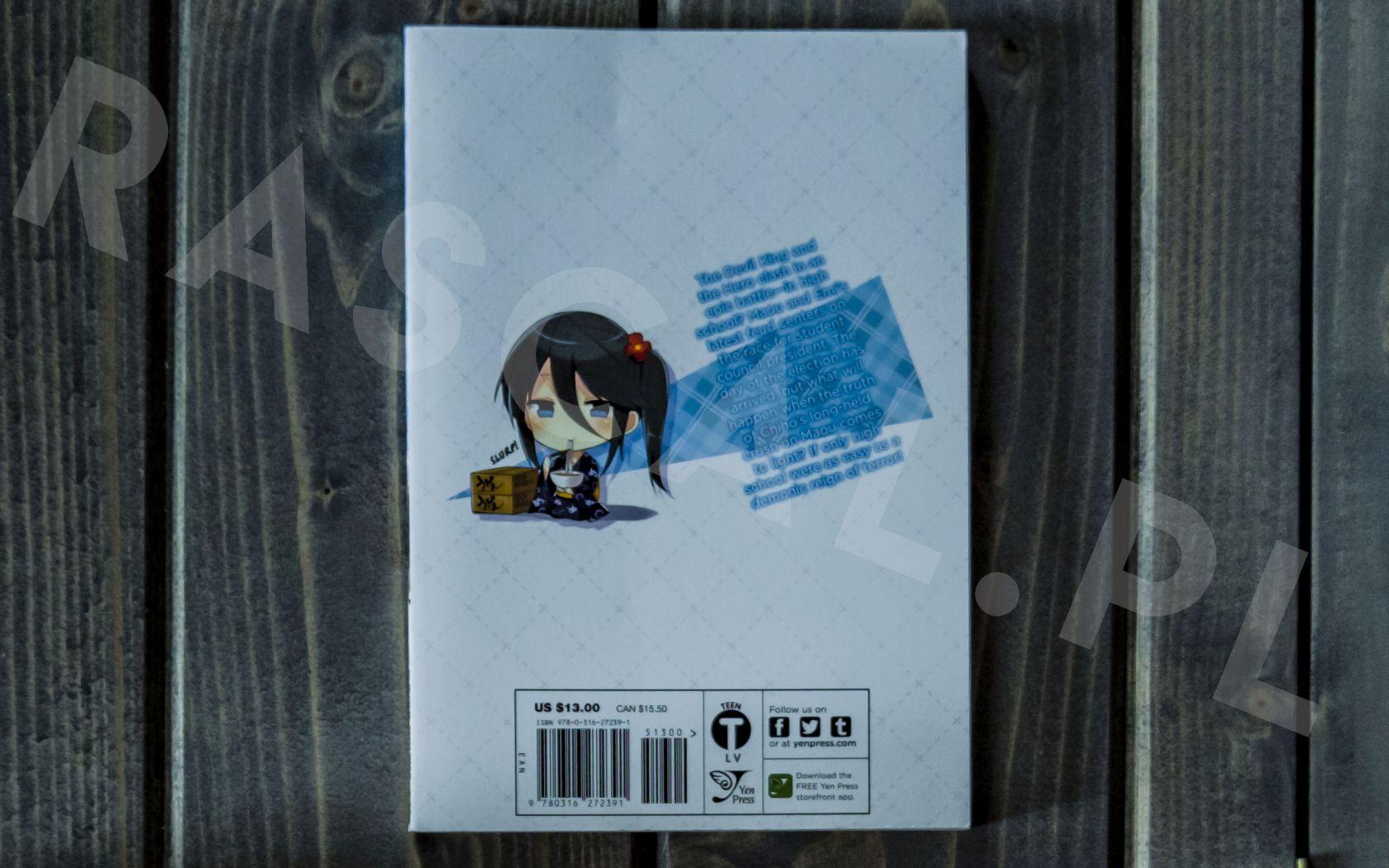 Hataraku Maou-sama! High School (4) - Yen Press - Nowości w kolekcji mangi (listopad 2020) - rascal.pl
