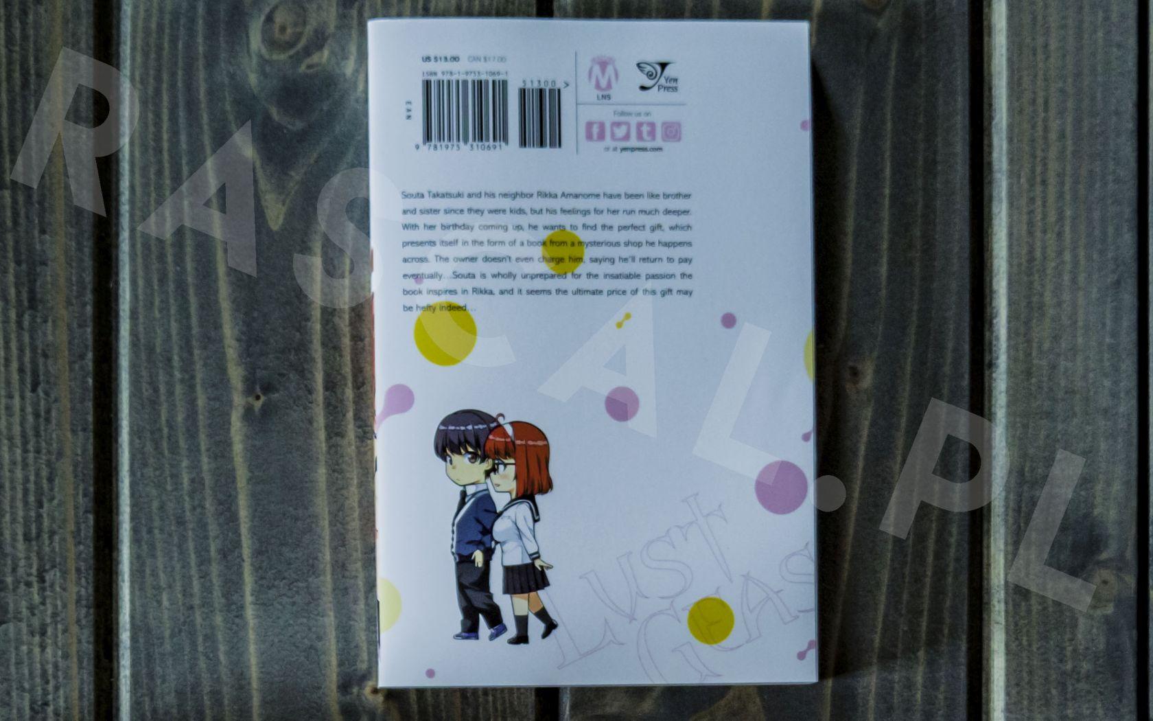 Lust Geass (1) - Yen Press - Nowości w kolekcji mangi (listopad 2020) - rascal.pl