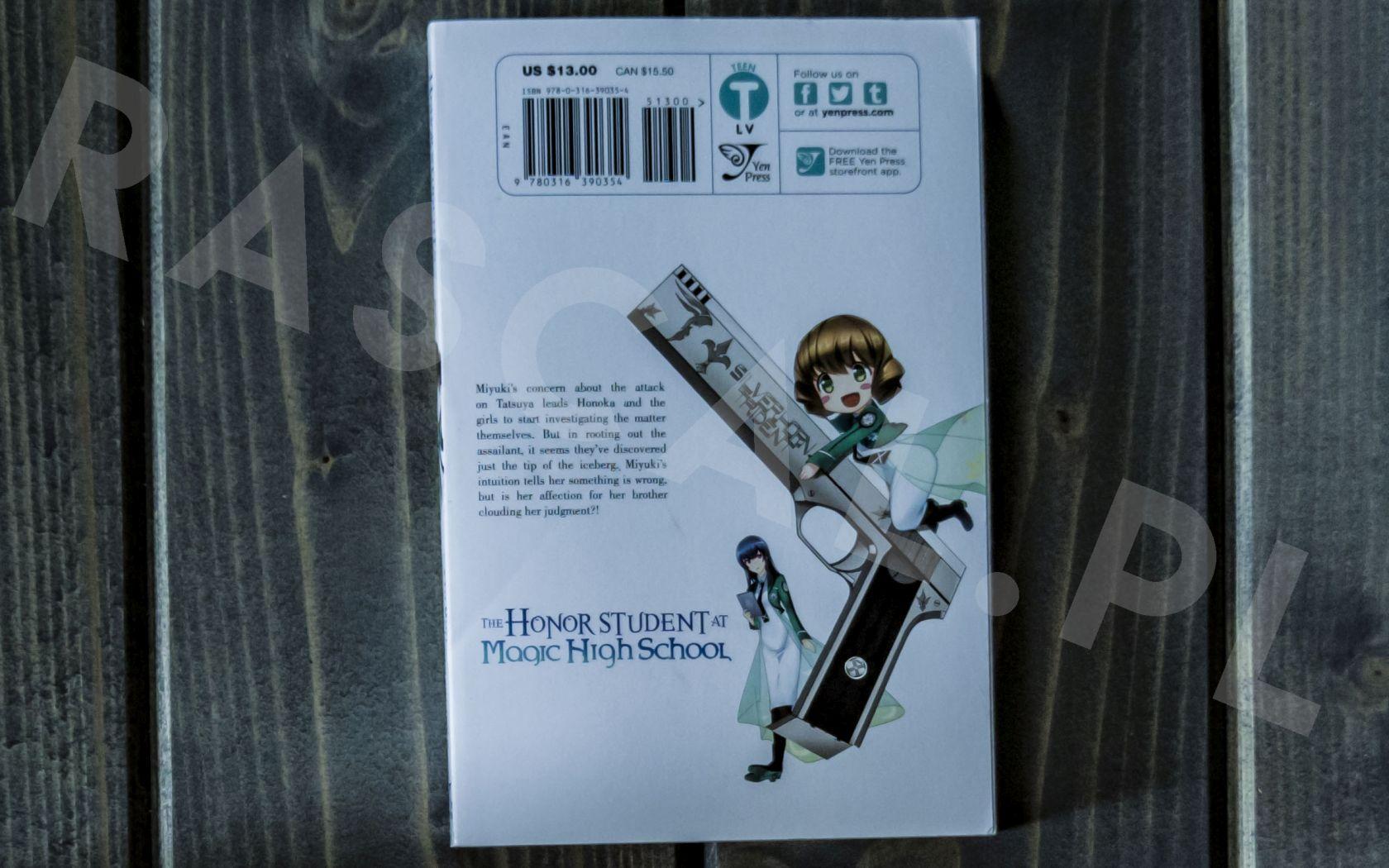Mahouka Koukou no Rettousei (3) - Yen Press - Nowości w kolekcji mangi (listopad 2020) - rascal.pl