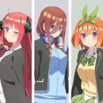 Gotoubun no Hanayome ∬ - recenzja anime zima 2021 - rascal.pl