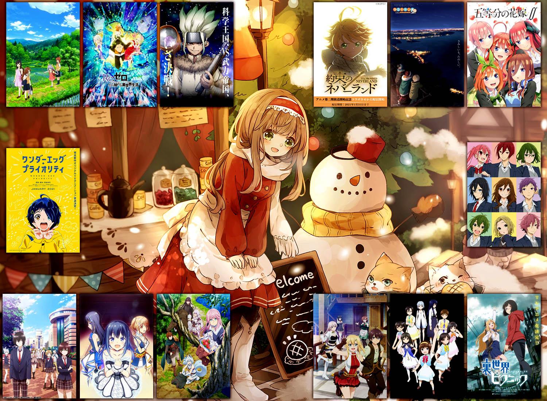 Anime Zima 2021 - recenzje - rascal.pl