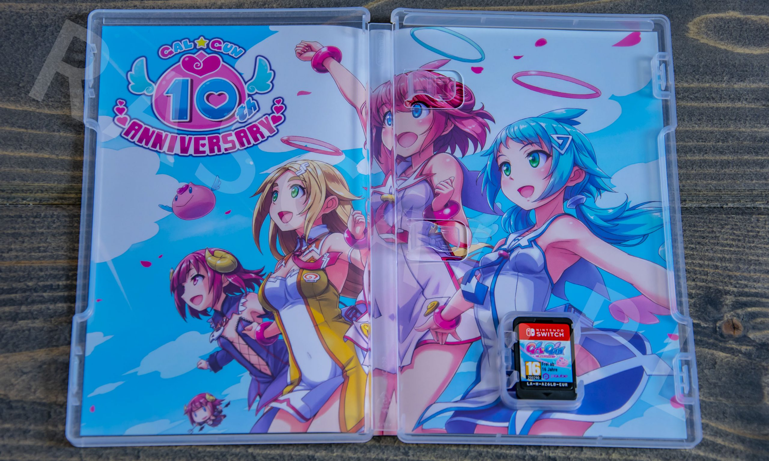 Gal*Gun Returns Collector's Edition - unboxing - rascal.pl